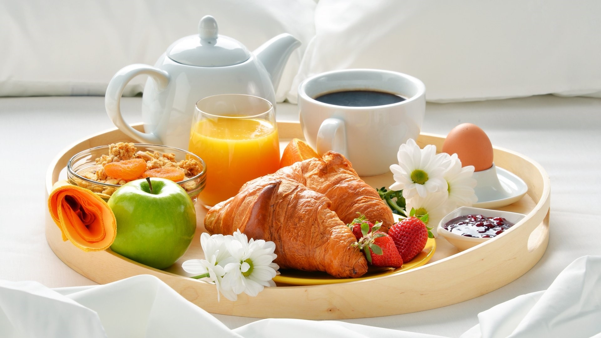 Breakfast wallpaper for computer