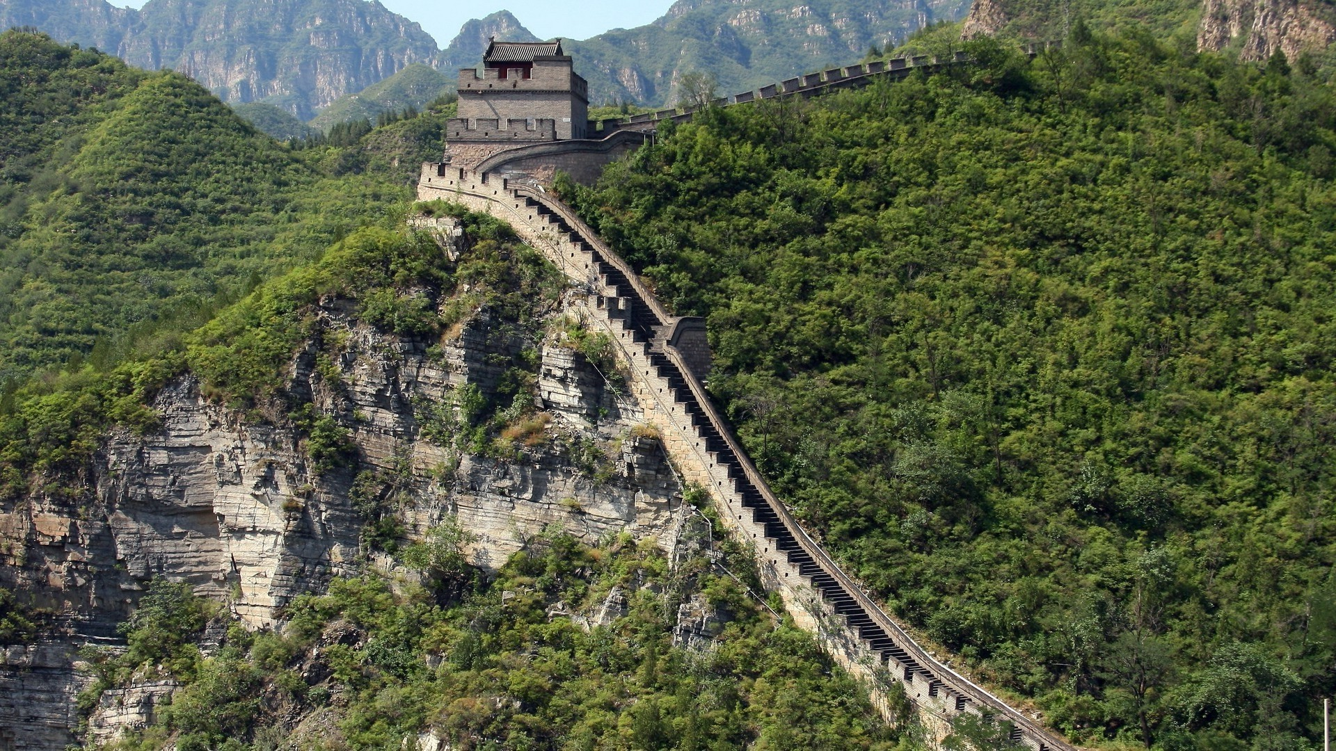 Great Wall Of China Wallpaper theme