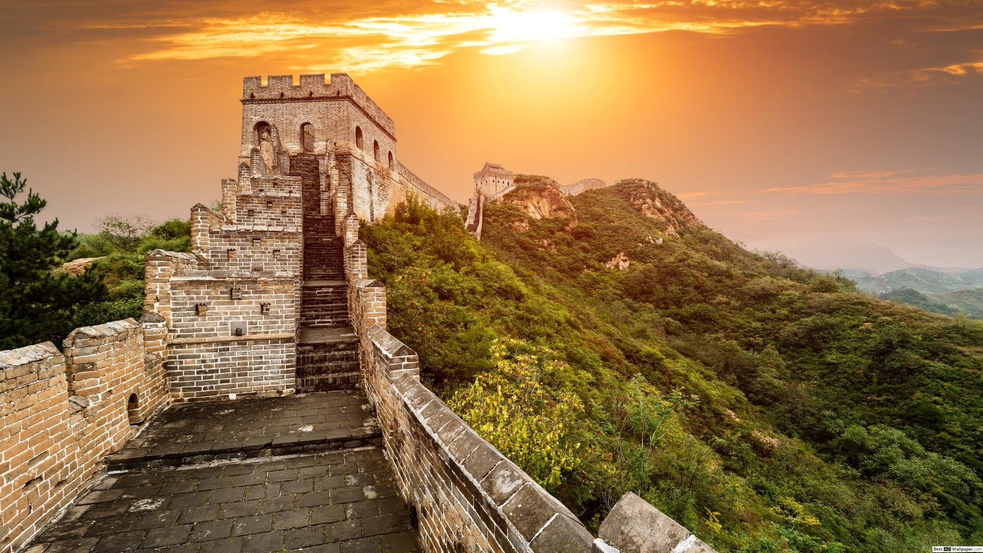 Great Wall Of China desktop wallpaper hd
