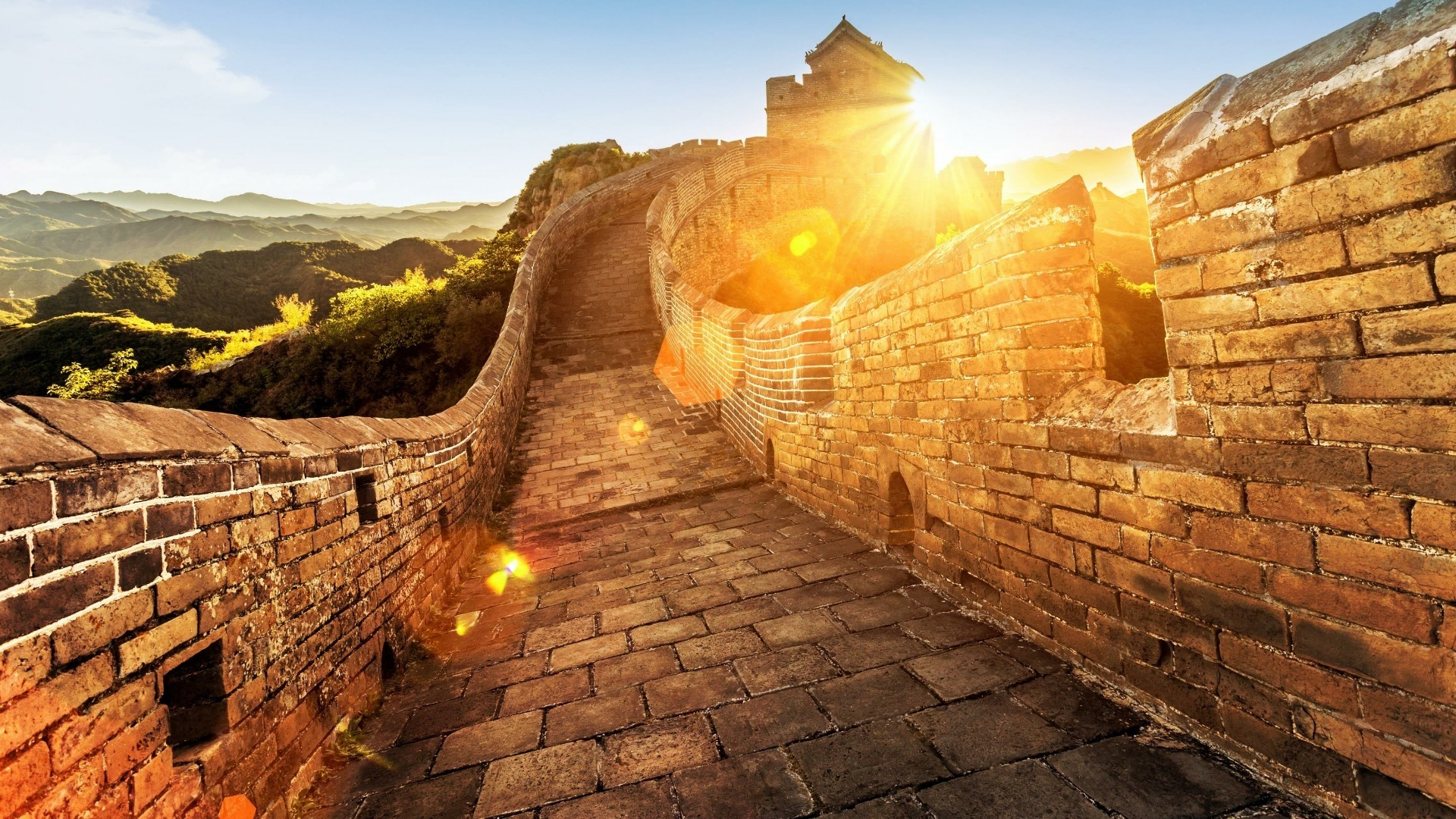 Great Wall Of China HD Wallpaper