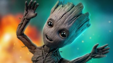 Groot Desktop Wallpaper