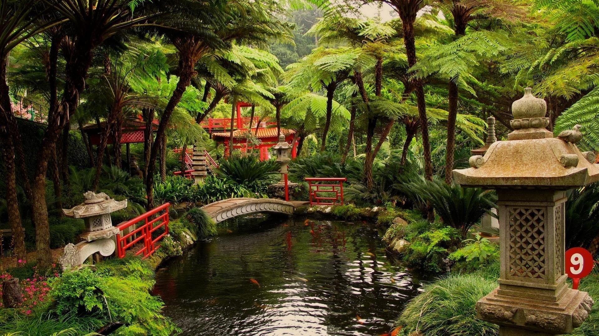 Japanese Garden wallpaper photo hd