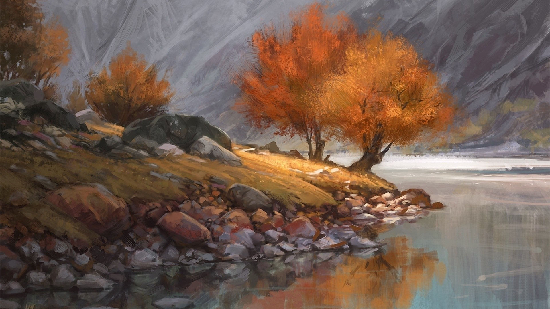 Painting Background