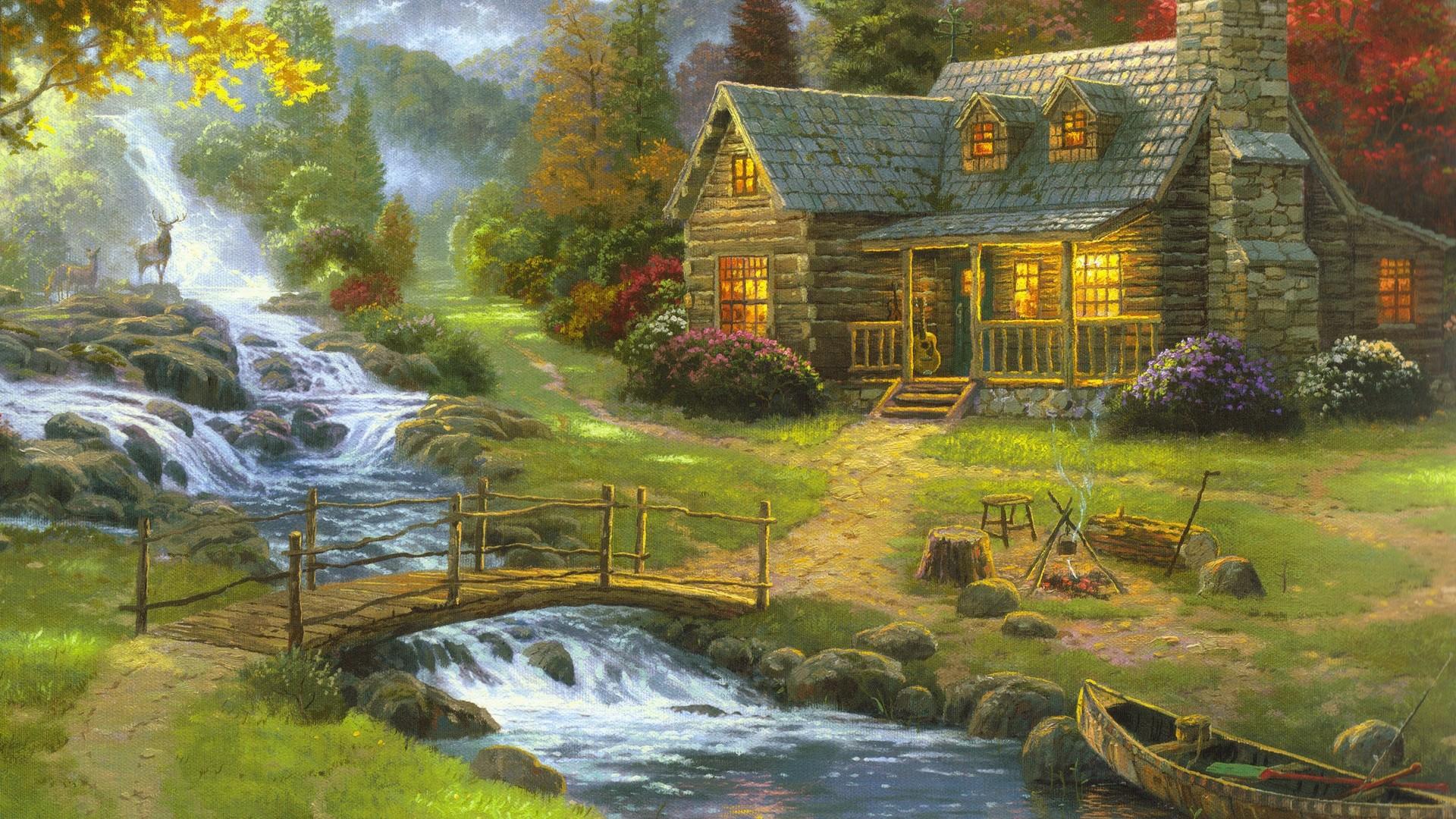 Painting Wallpaper theme