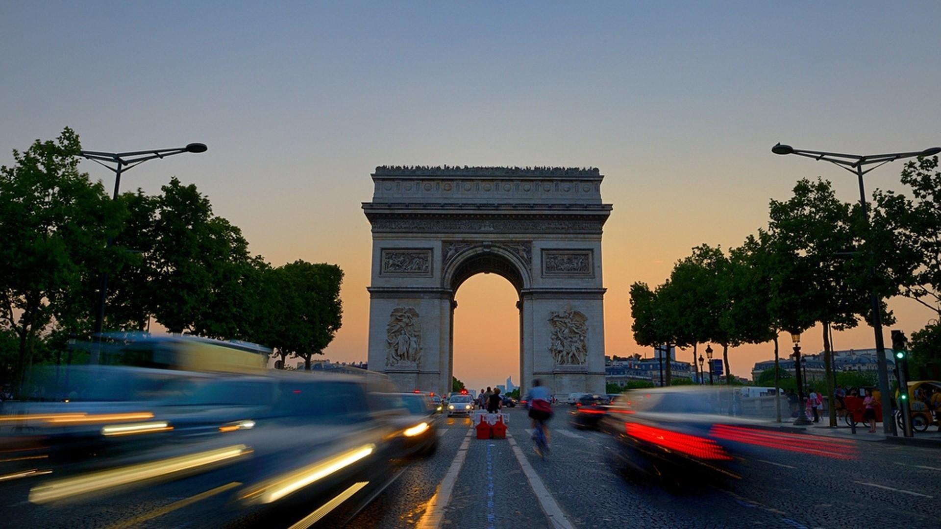 Arc De Triomphe Desktop Wallpaper