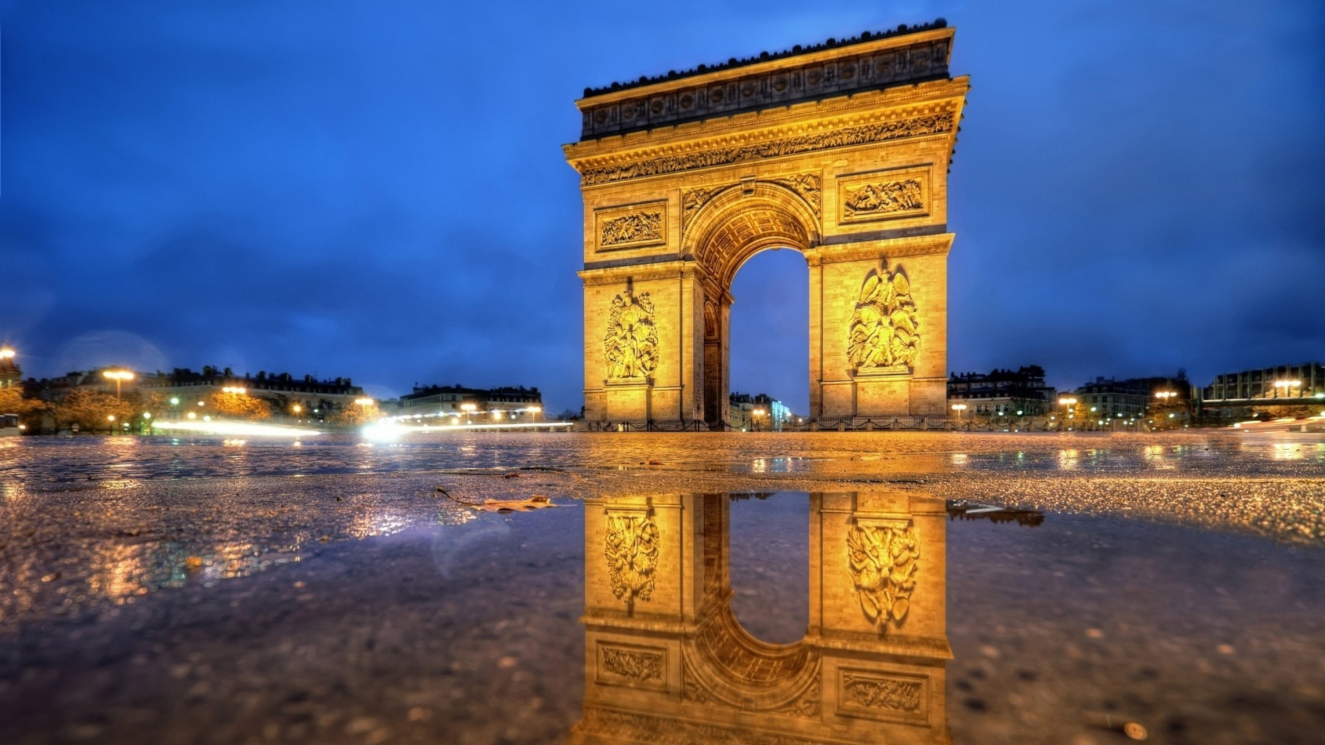 Arc De Triomphe wallpaper photo hd