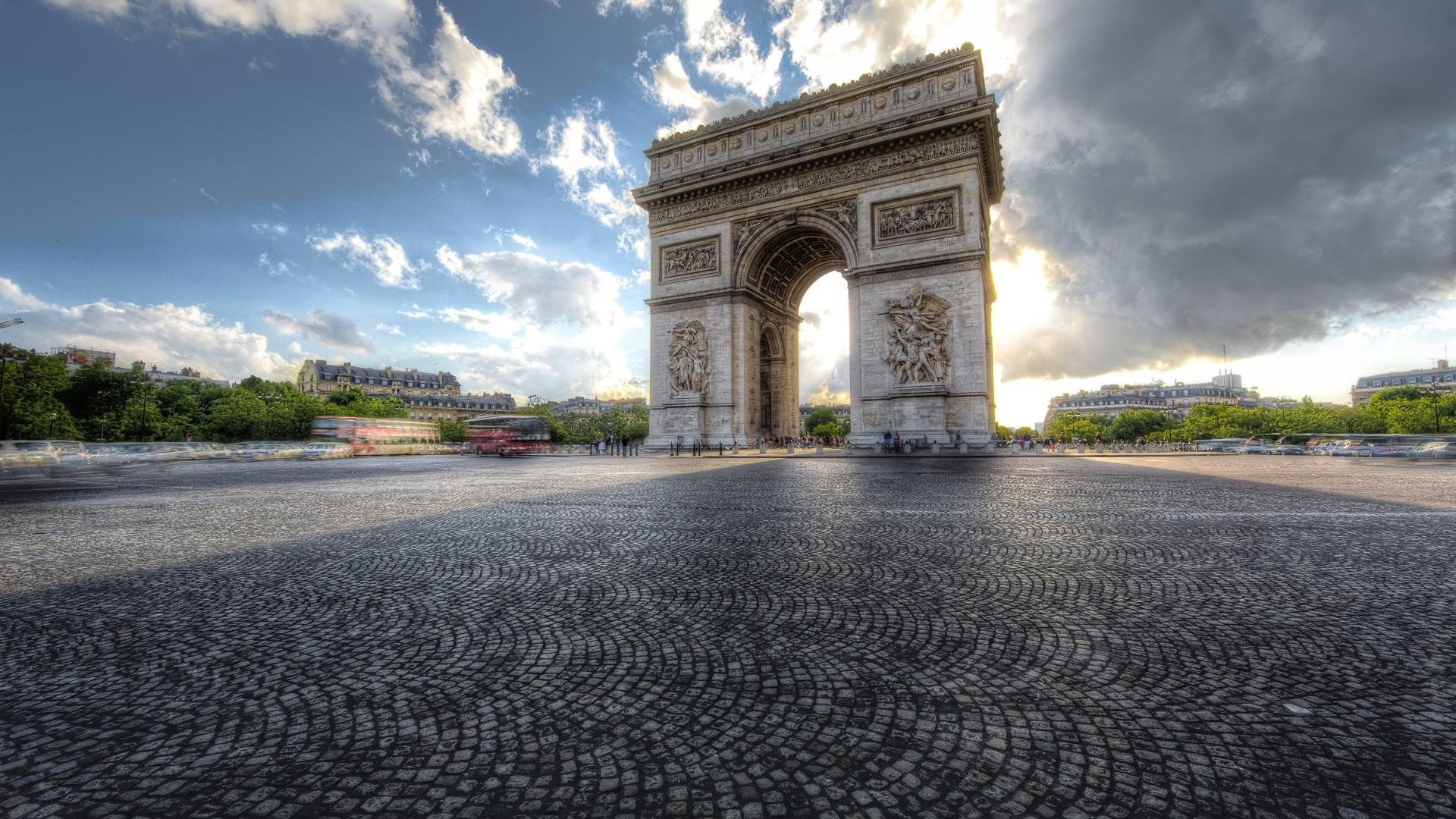 Arc De Triomphe desktop wallpaper hd