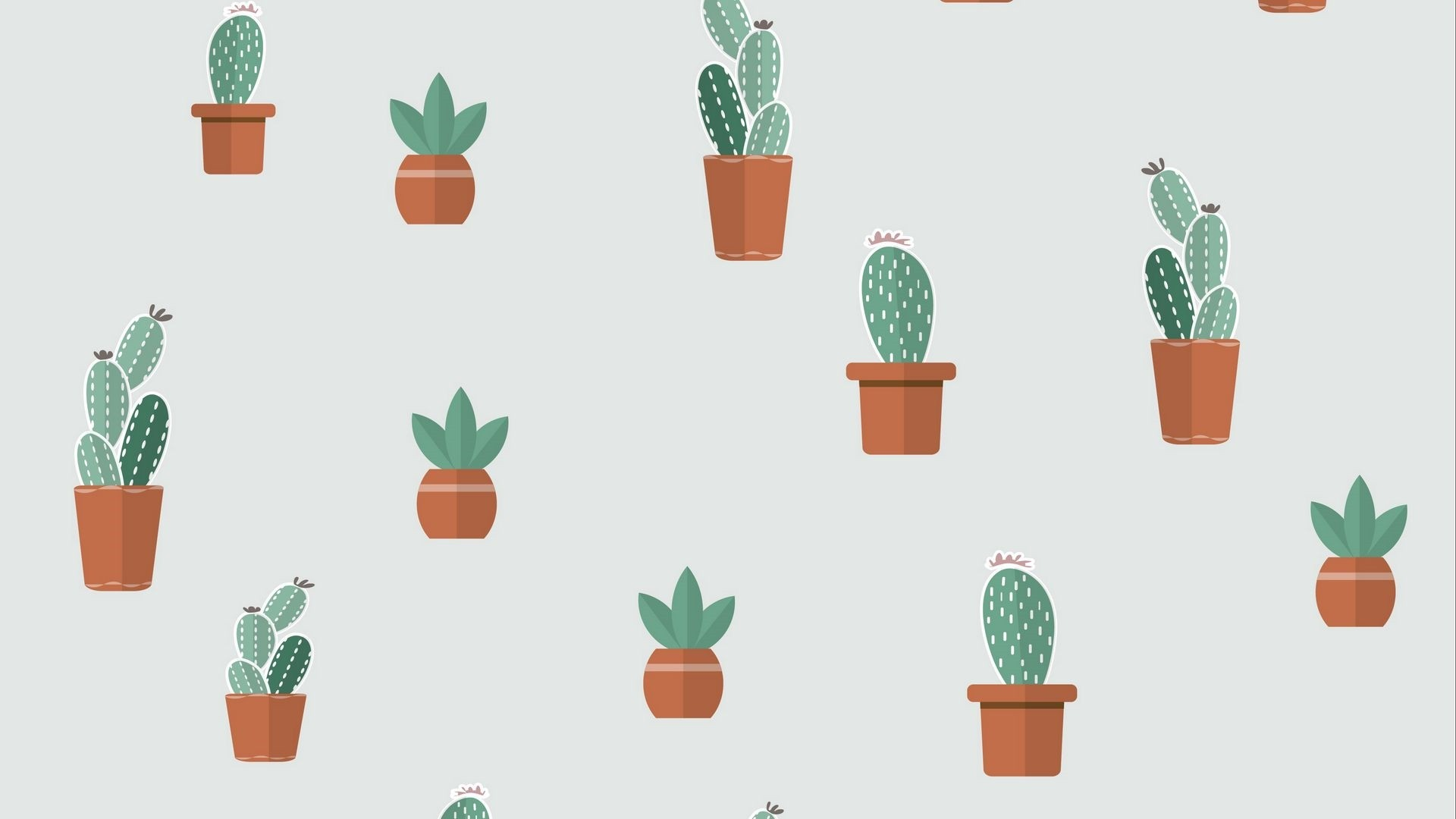 Cactus Minimalist wallpaper for pc