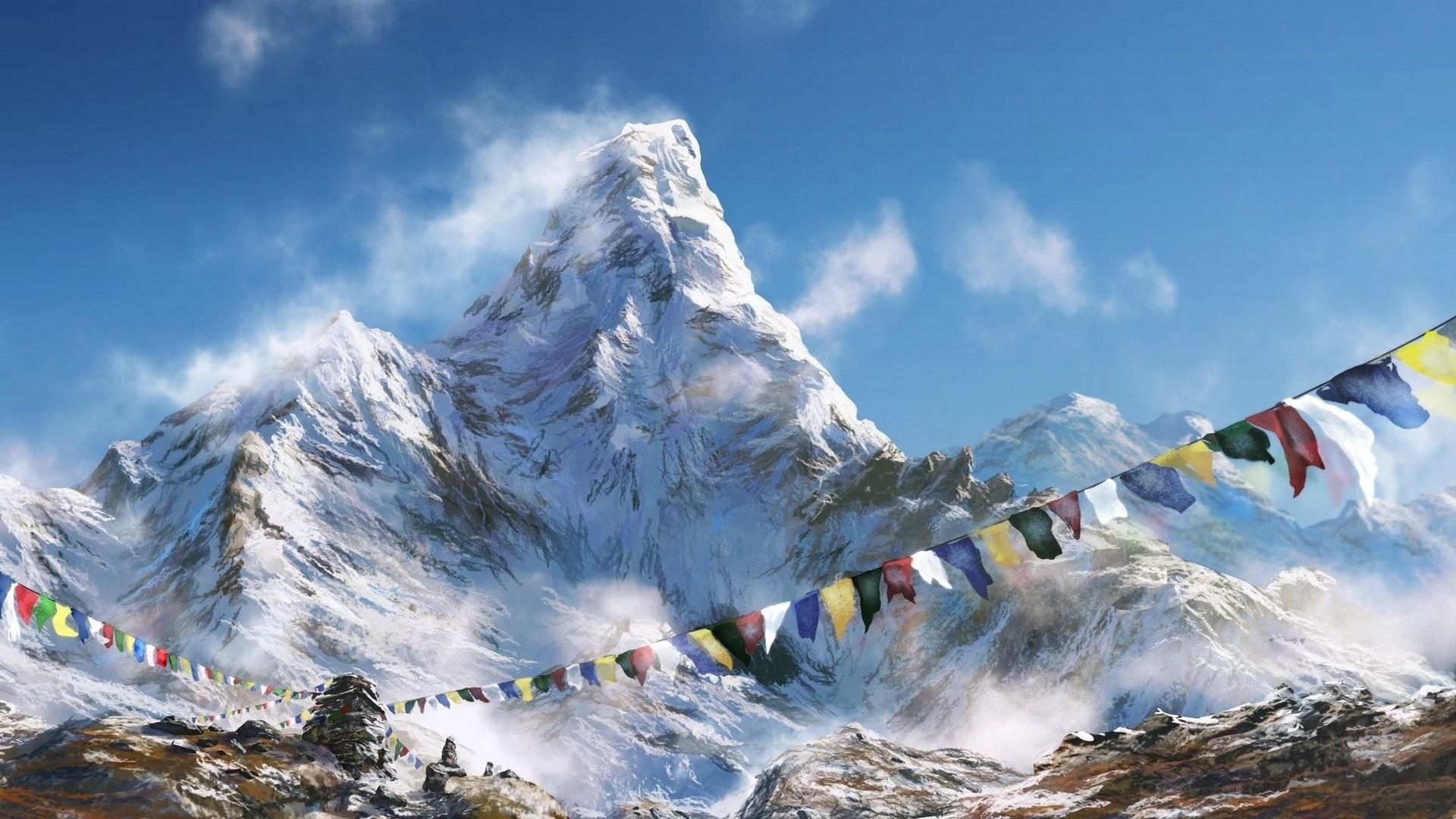 Everest wallpaper photo hd