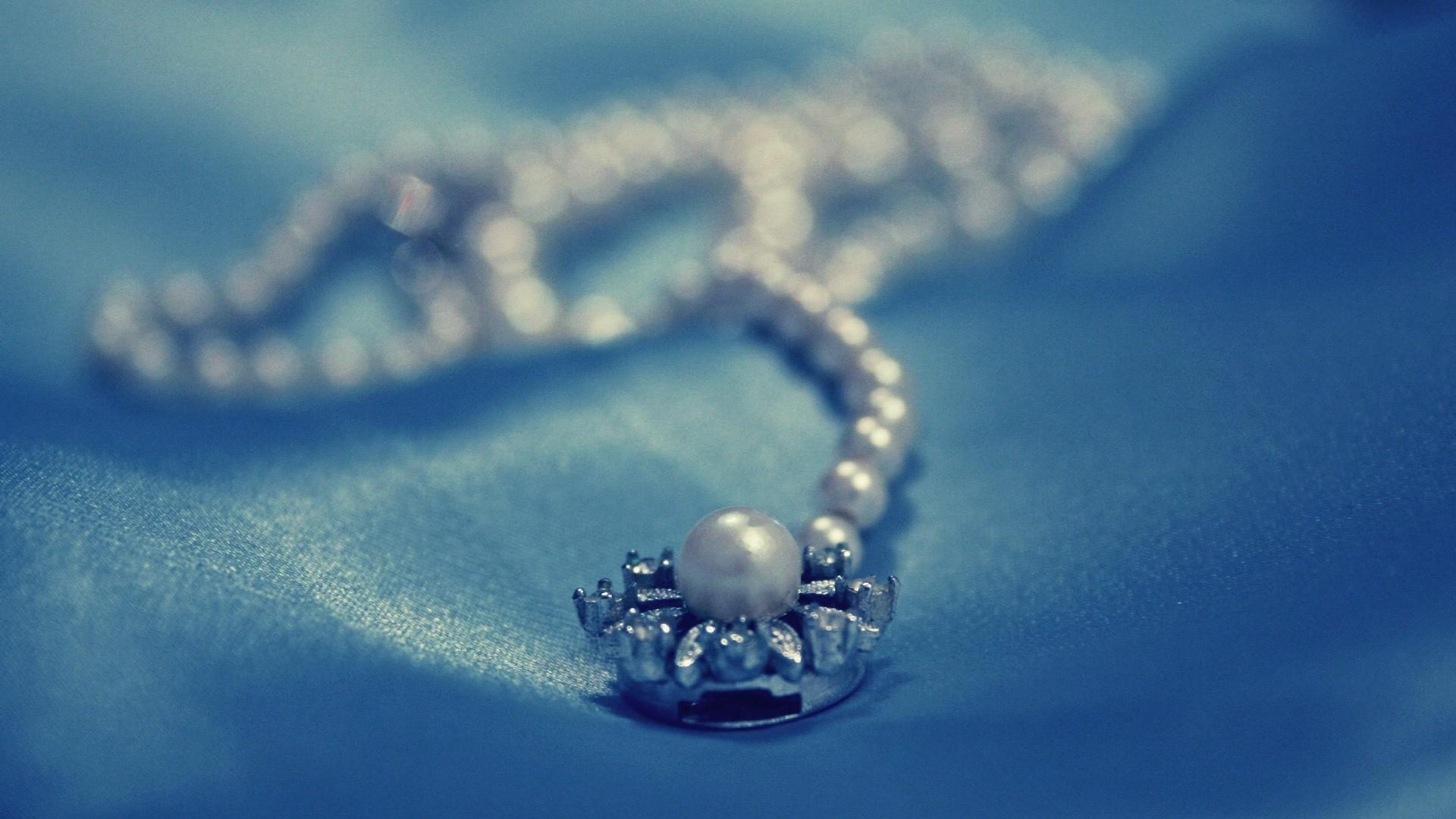 Jewelry Pearls HD Wallpaper