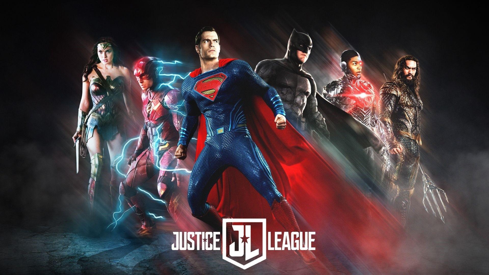 Justice League Poster Wallpaper