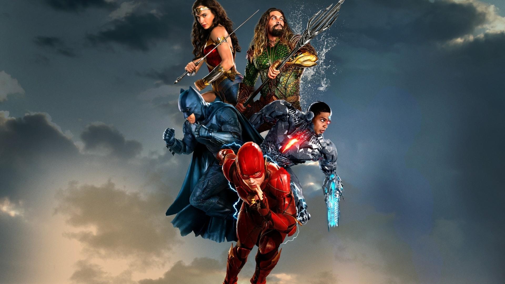 Justice League Poster HD Wallpaper