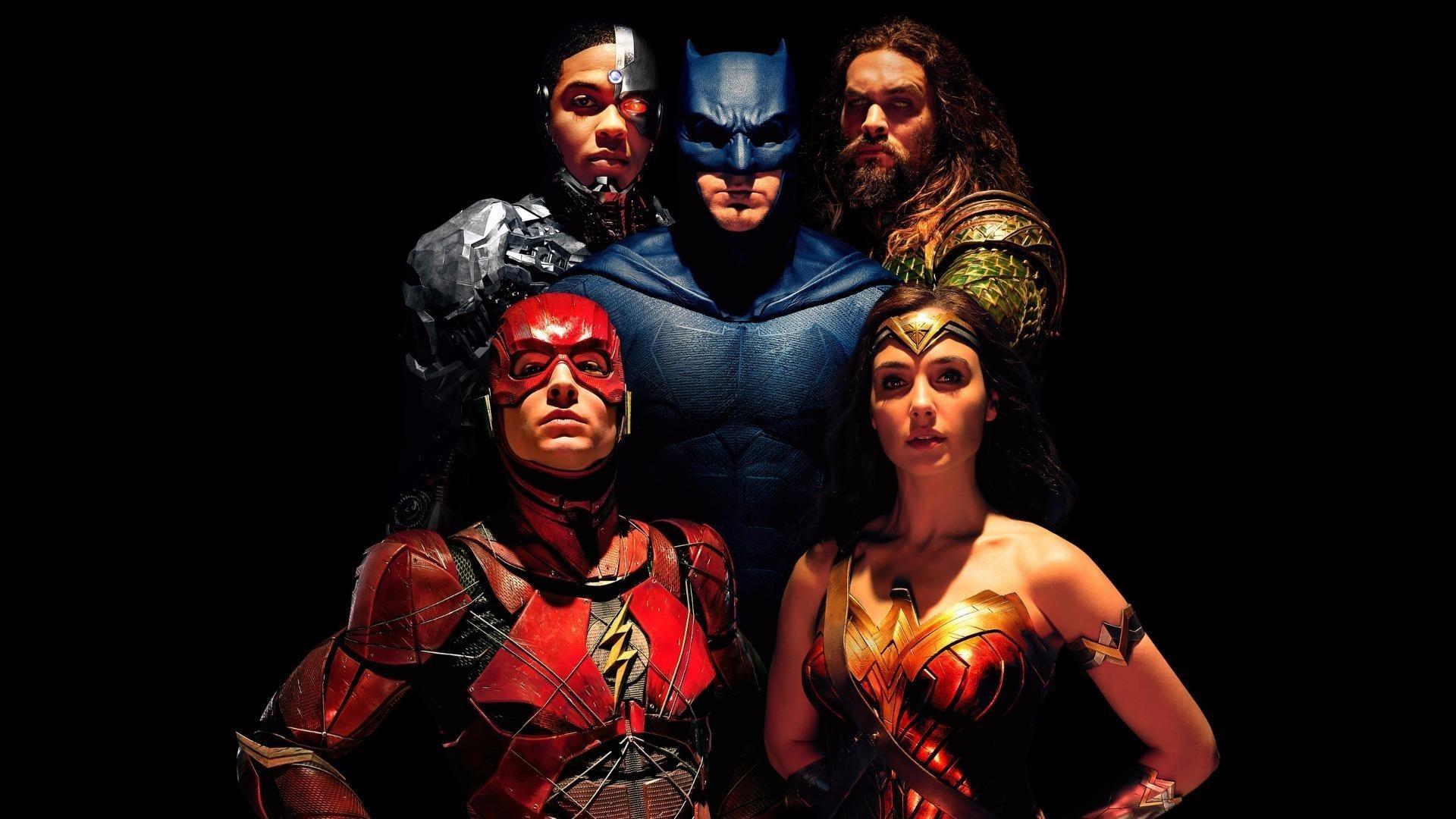 Justice League Poster Desktop Wallpaper