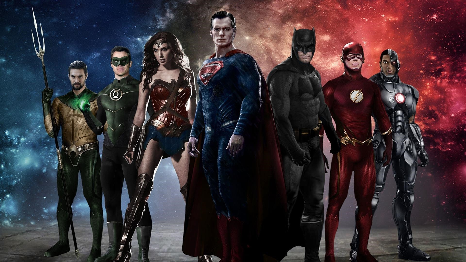 Justice League Poster wallpaper for computer