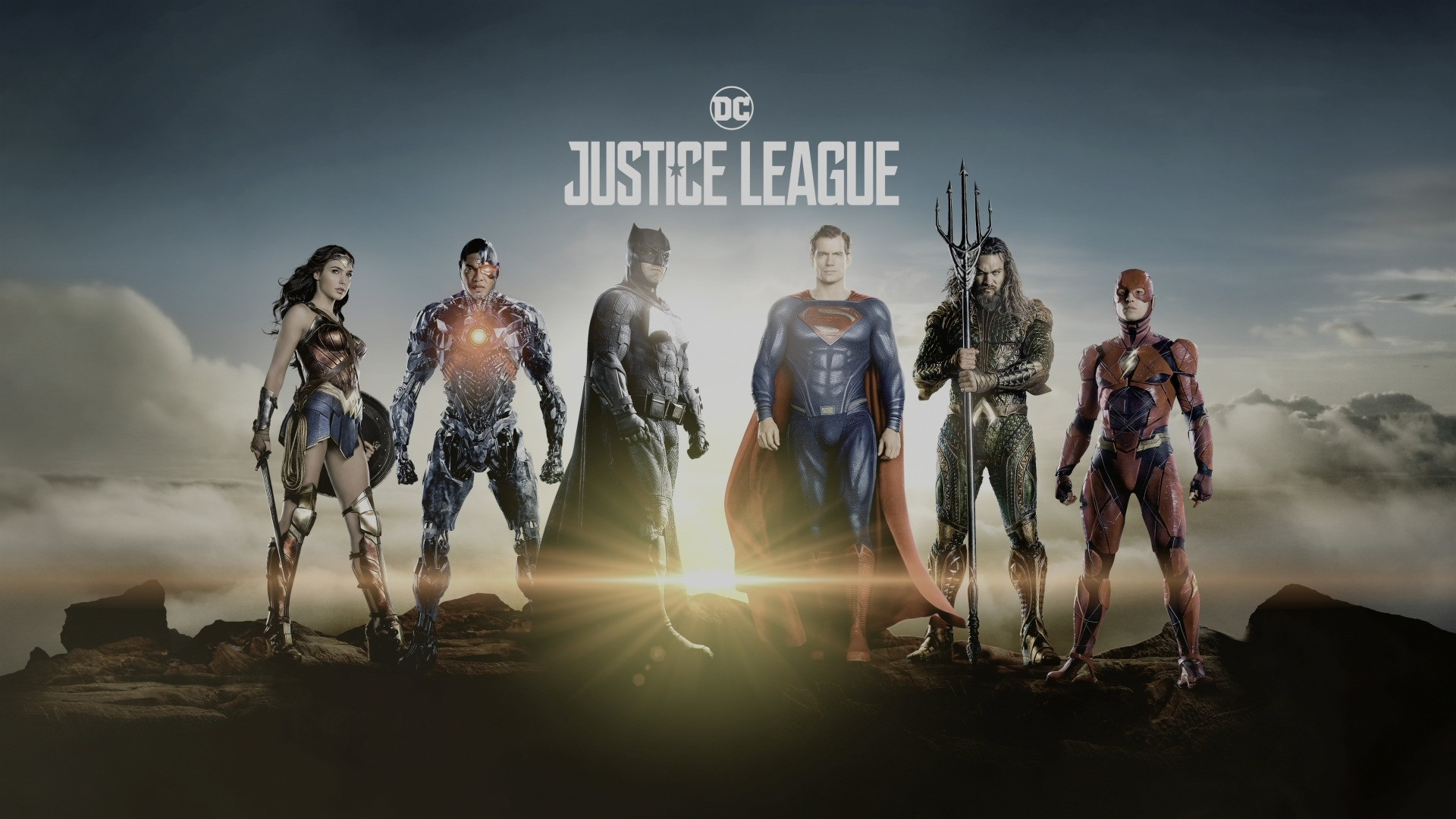 Justice League Poster Background