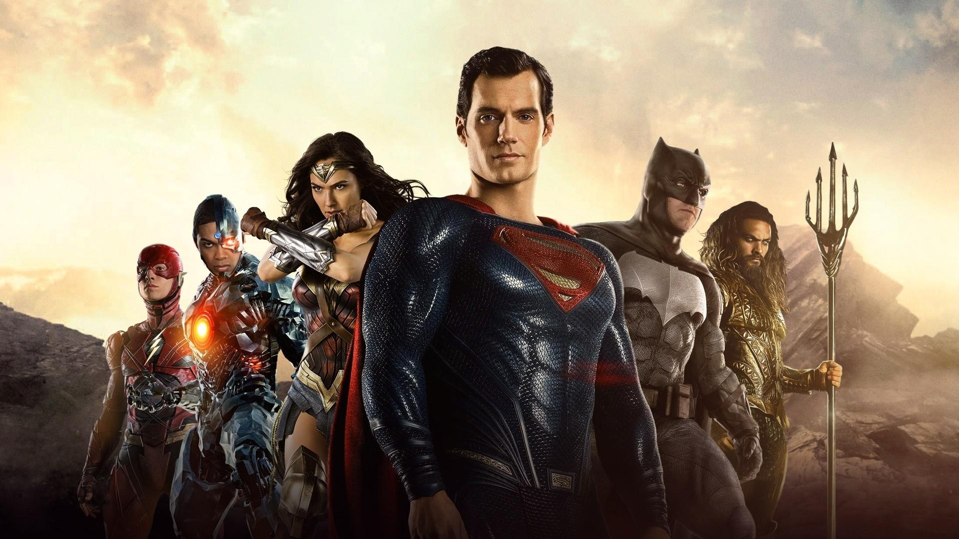Justice League Poster computer wallpaper