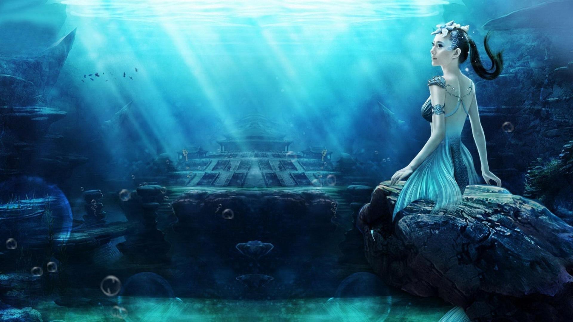 Mermaids wallpaper for computer