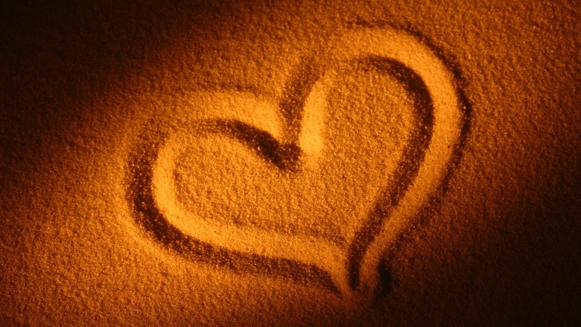 Sand Love wallpaper for desktop