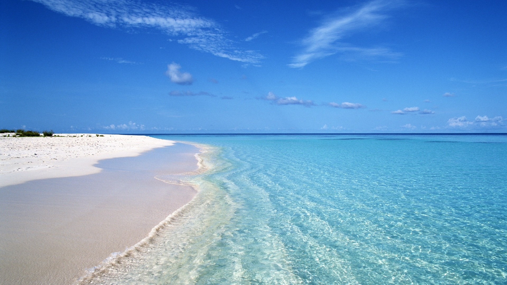 Sea White Sand Image