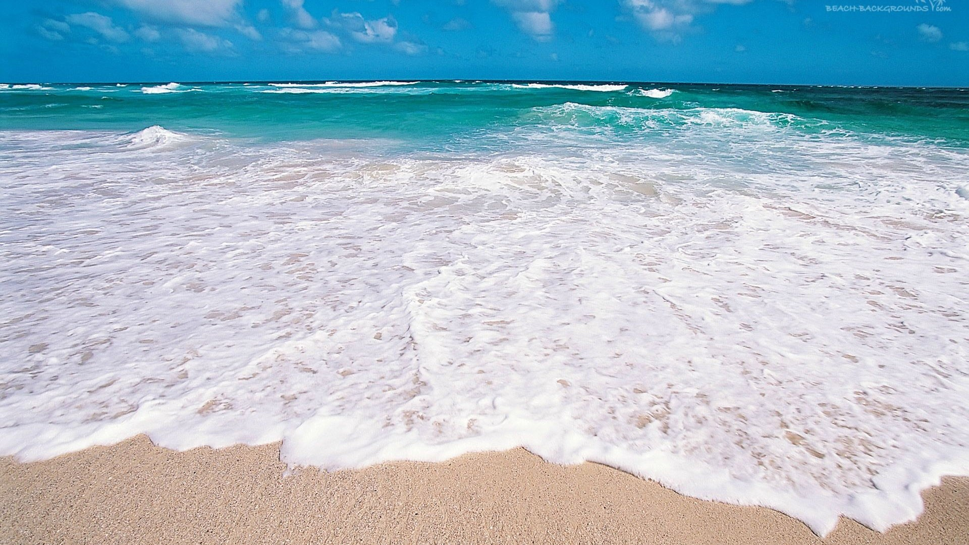 Sea White Sand Background