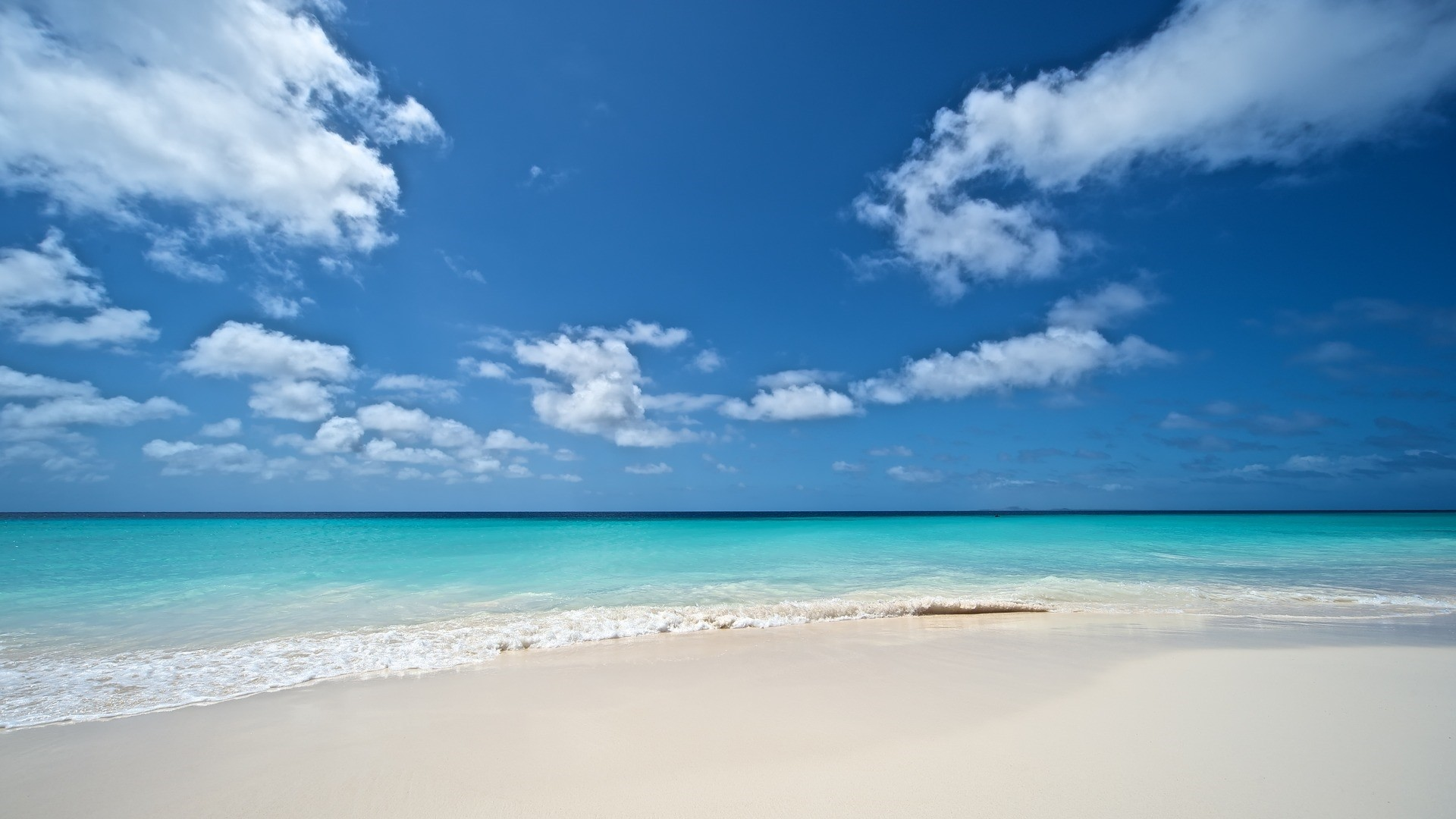 Sea White Sand Wallpaper