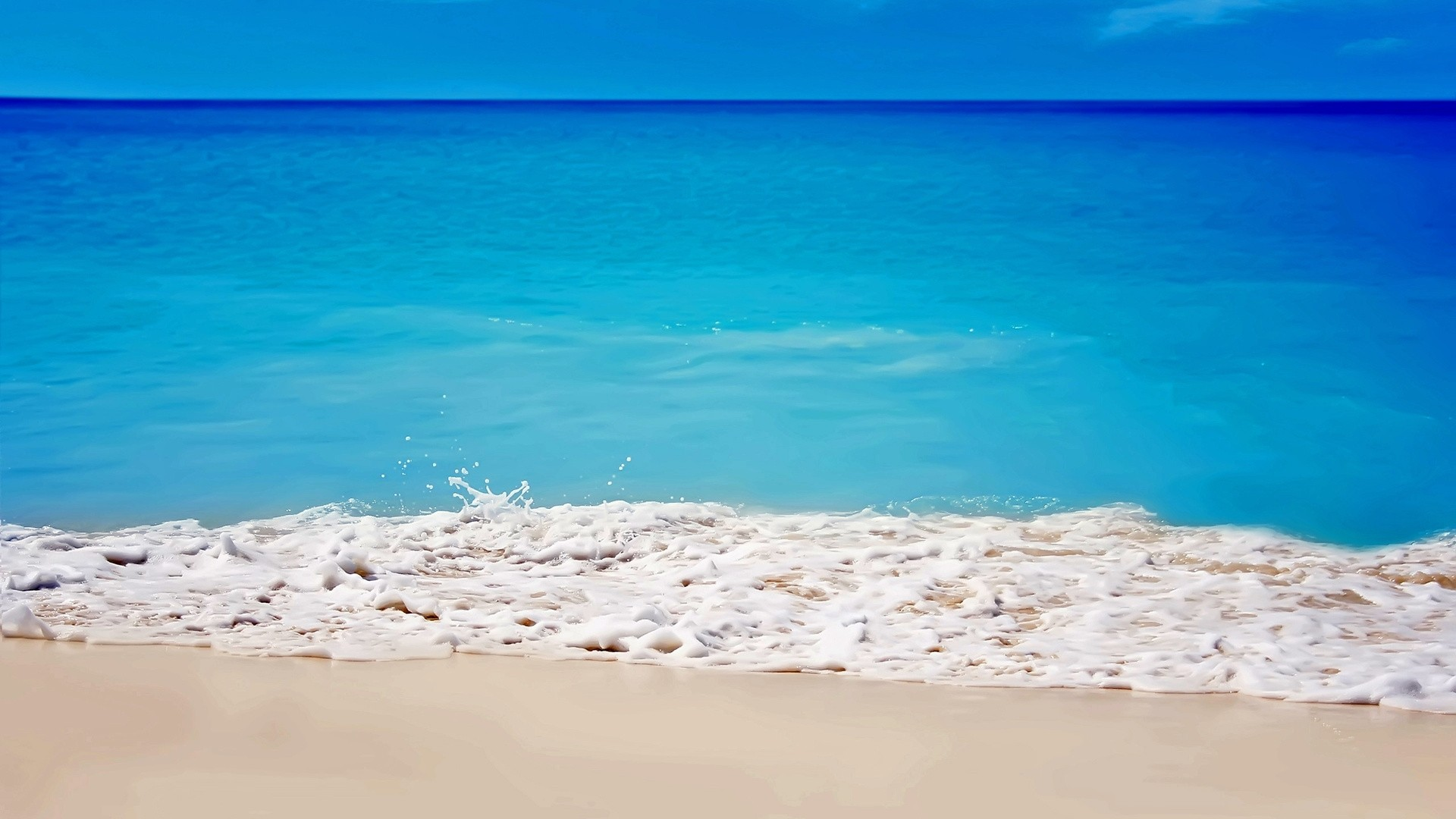 Sea White Sand Pic