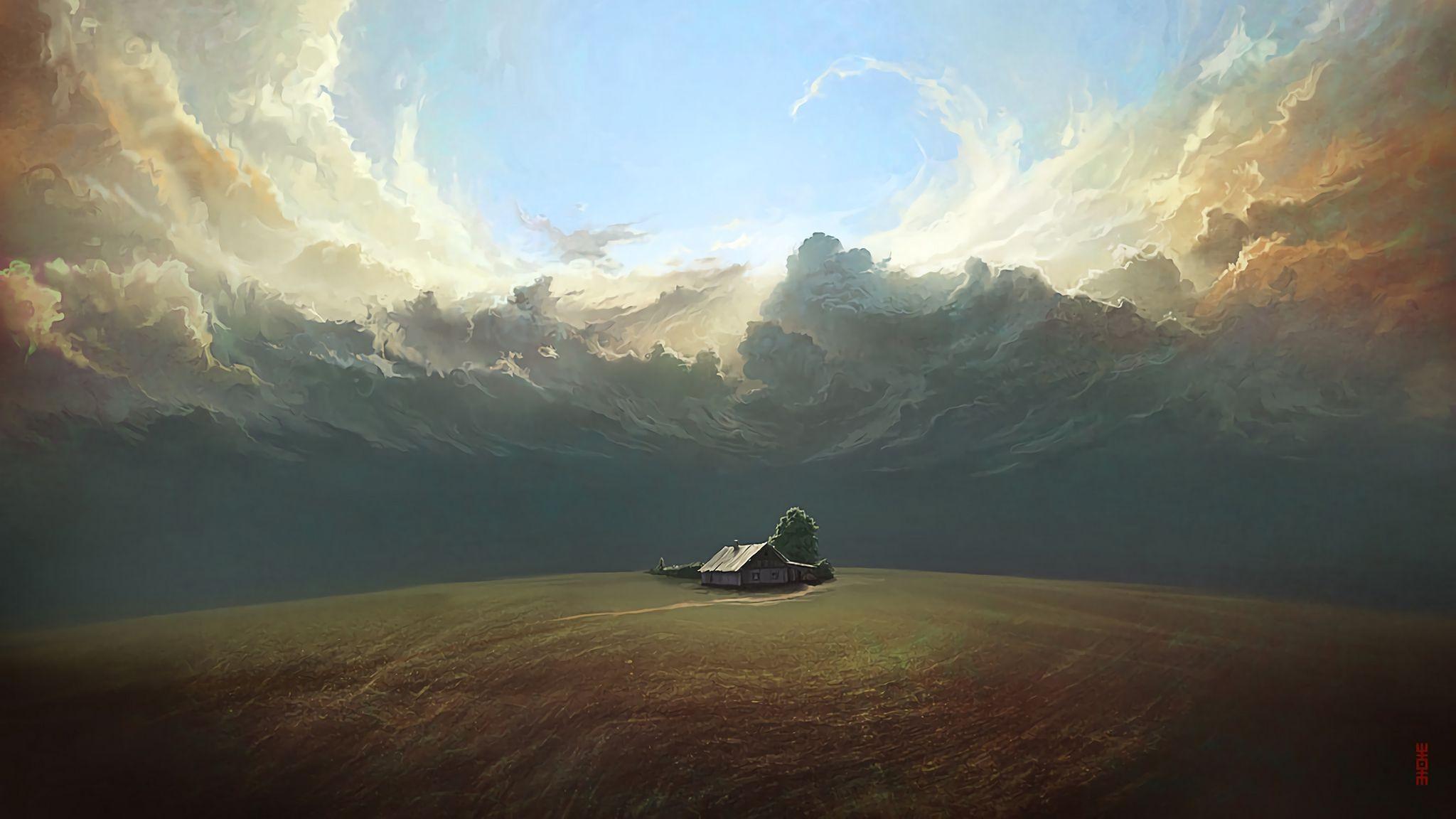 Surrealism Art desktop wallpaper hd