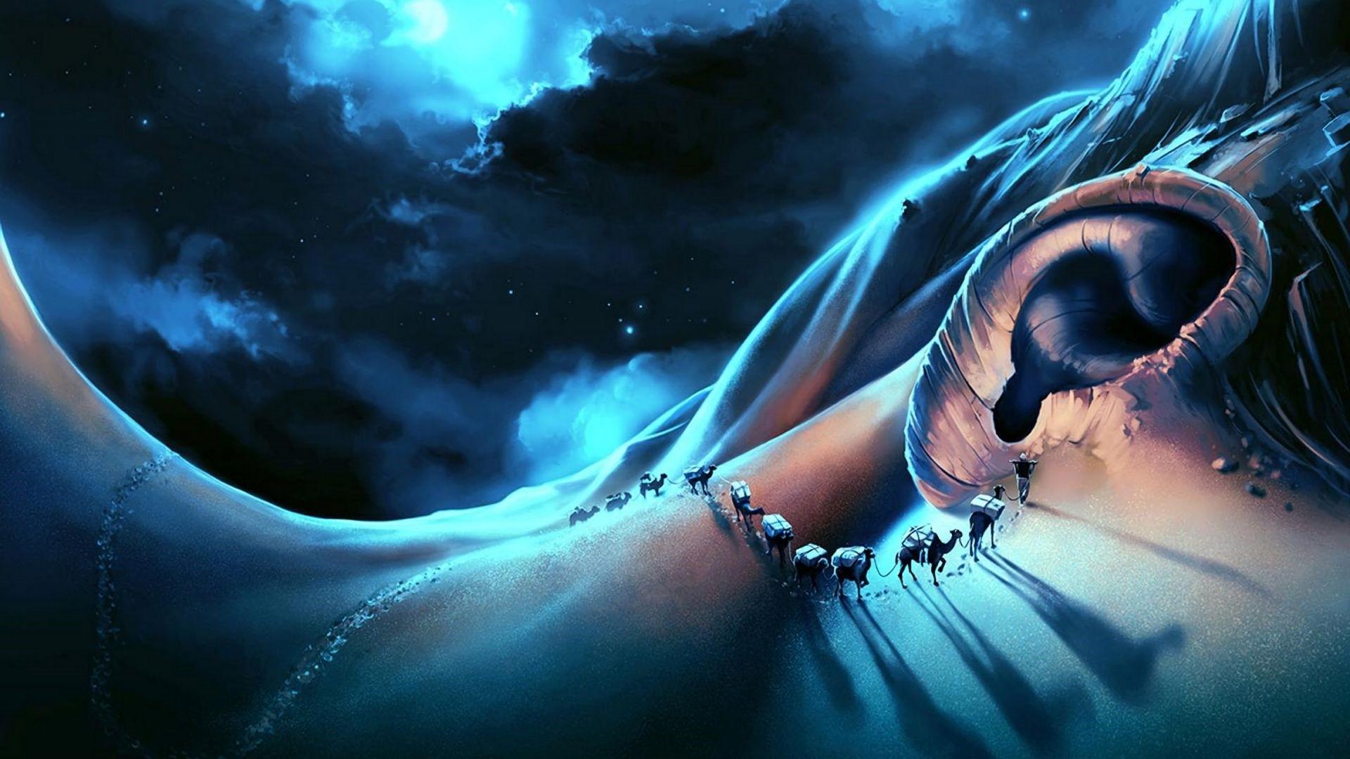 Surrealism Art Wallpaper theme
