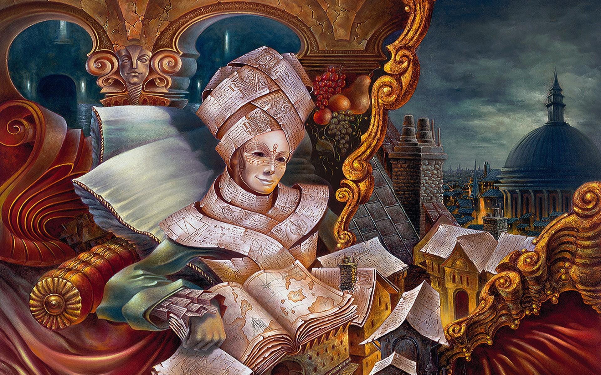Surrealism Art Desktop Wallpaper