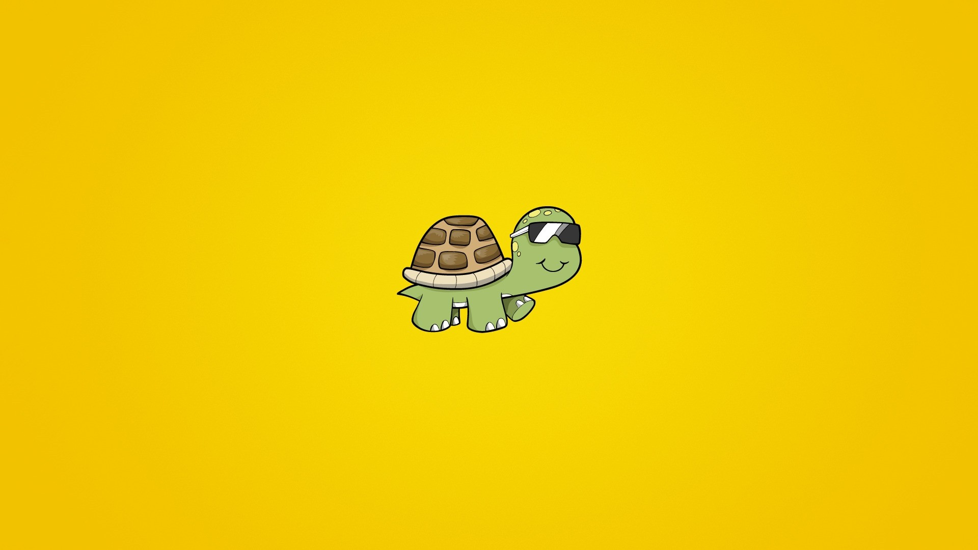 Turtle Minimalist Wallpaper