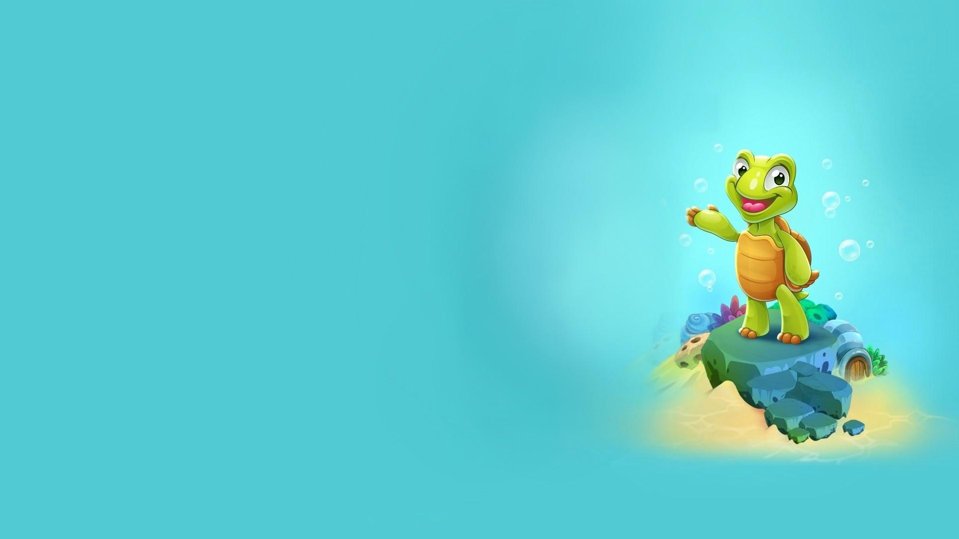 Turtle Minimalist desktop wallpaper hd