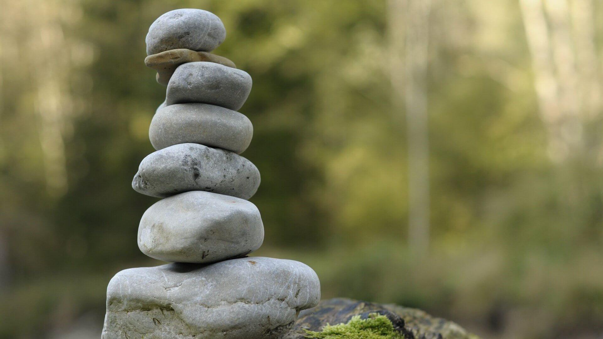 Zen Stone Pyramid Picture