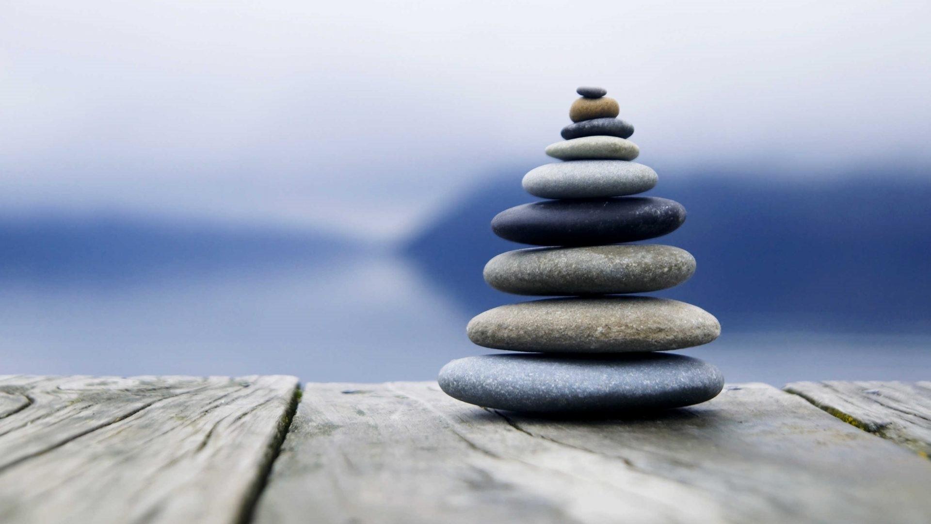 Zen Stone Pyramid wallpaper for pc