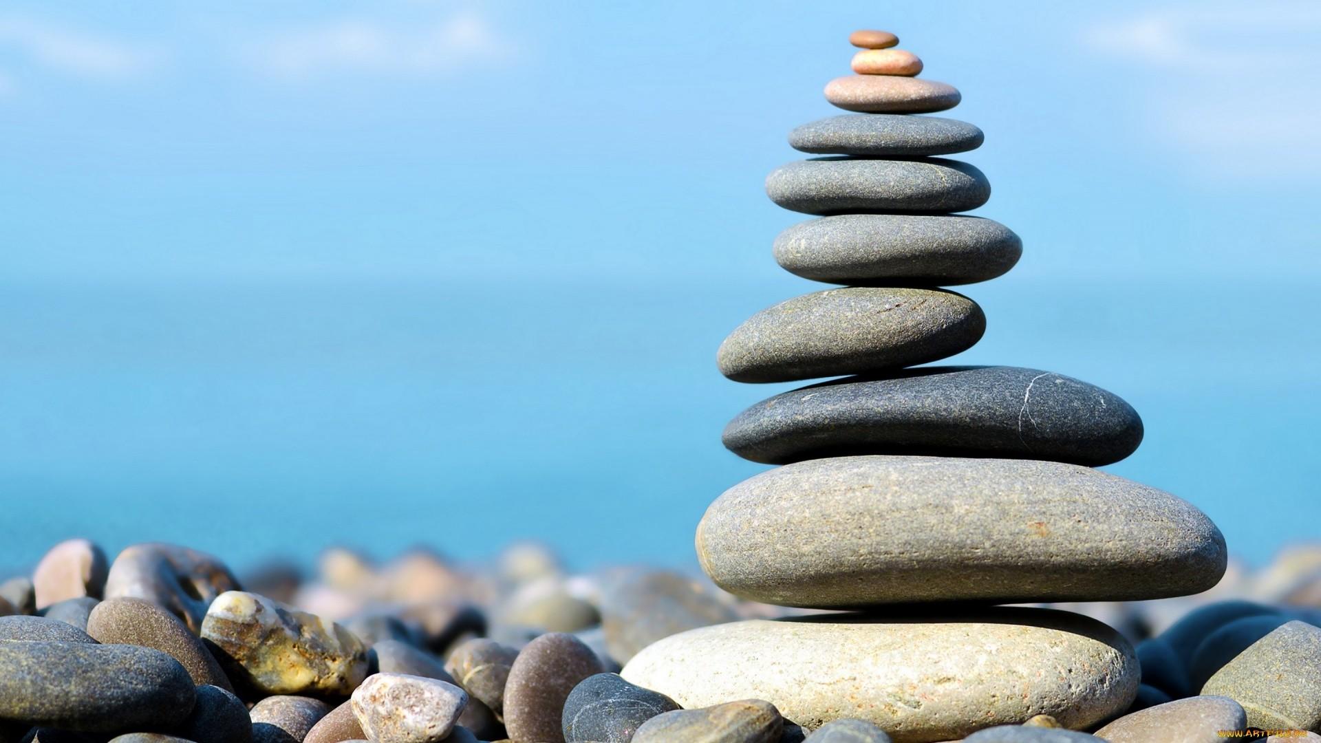 Zen Stone Pyramid Image