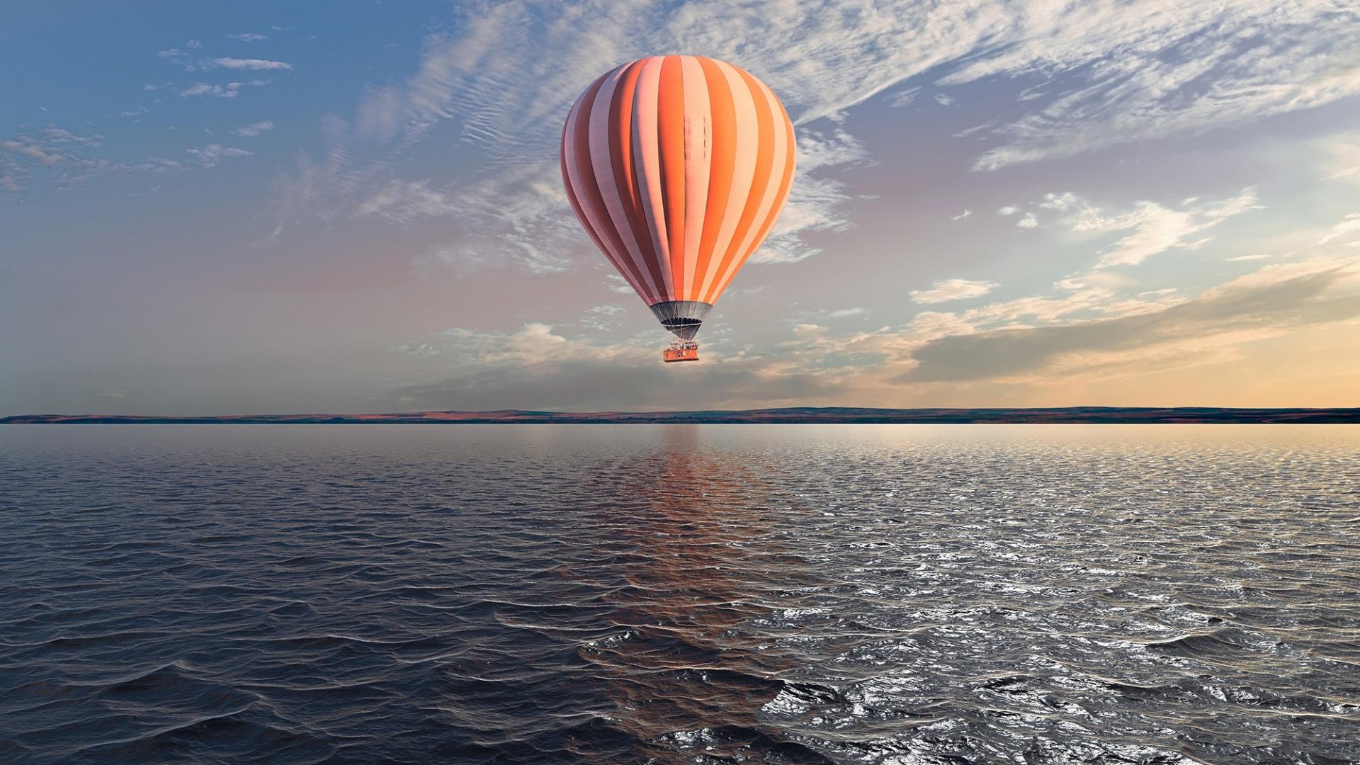 Air Balloon wallpaper for computer