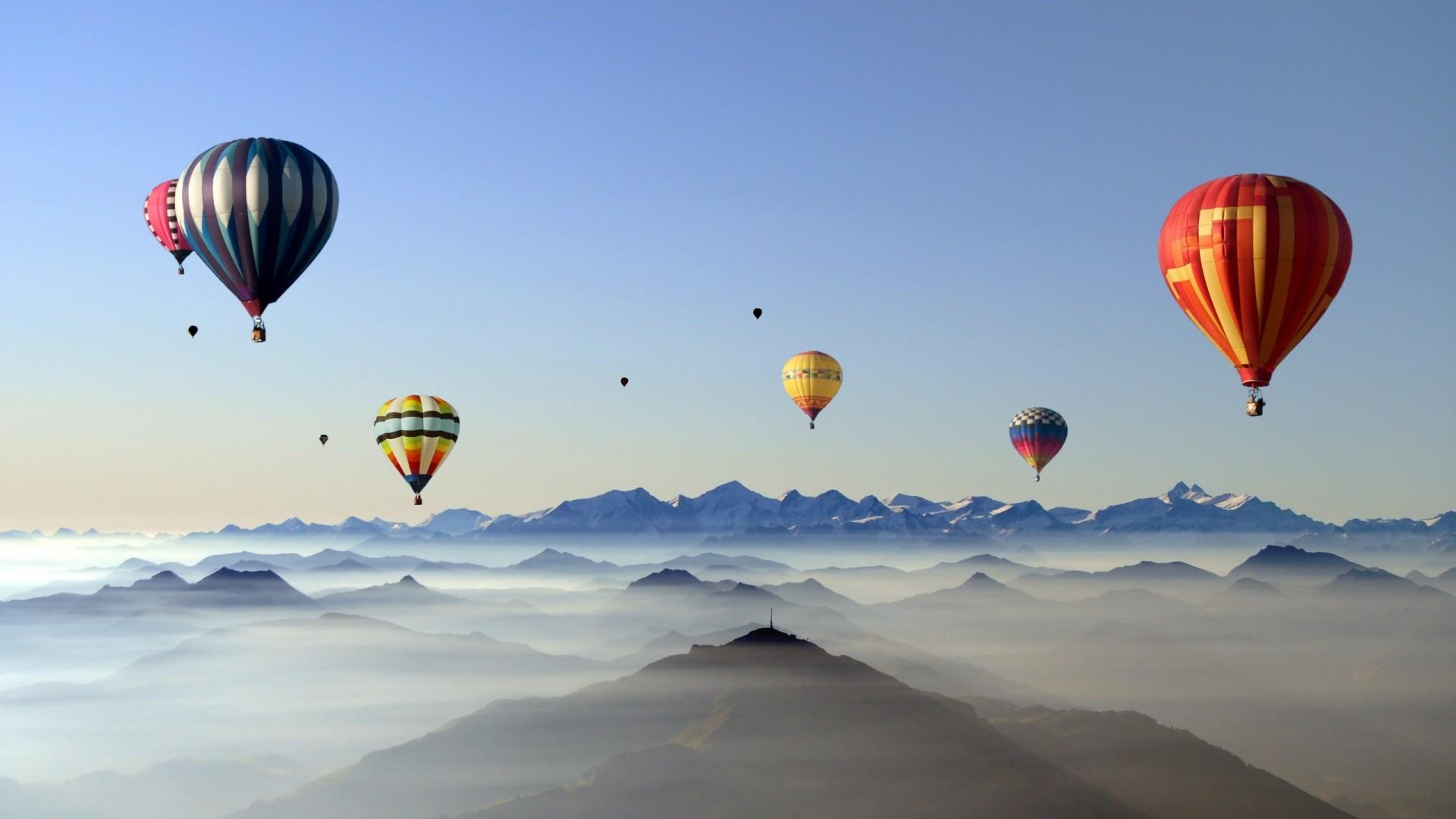 Air Balloon computer wallpaper