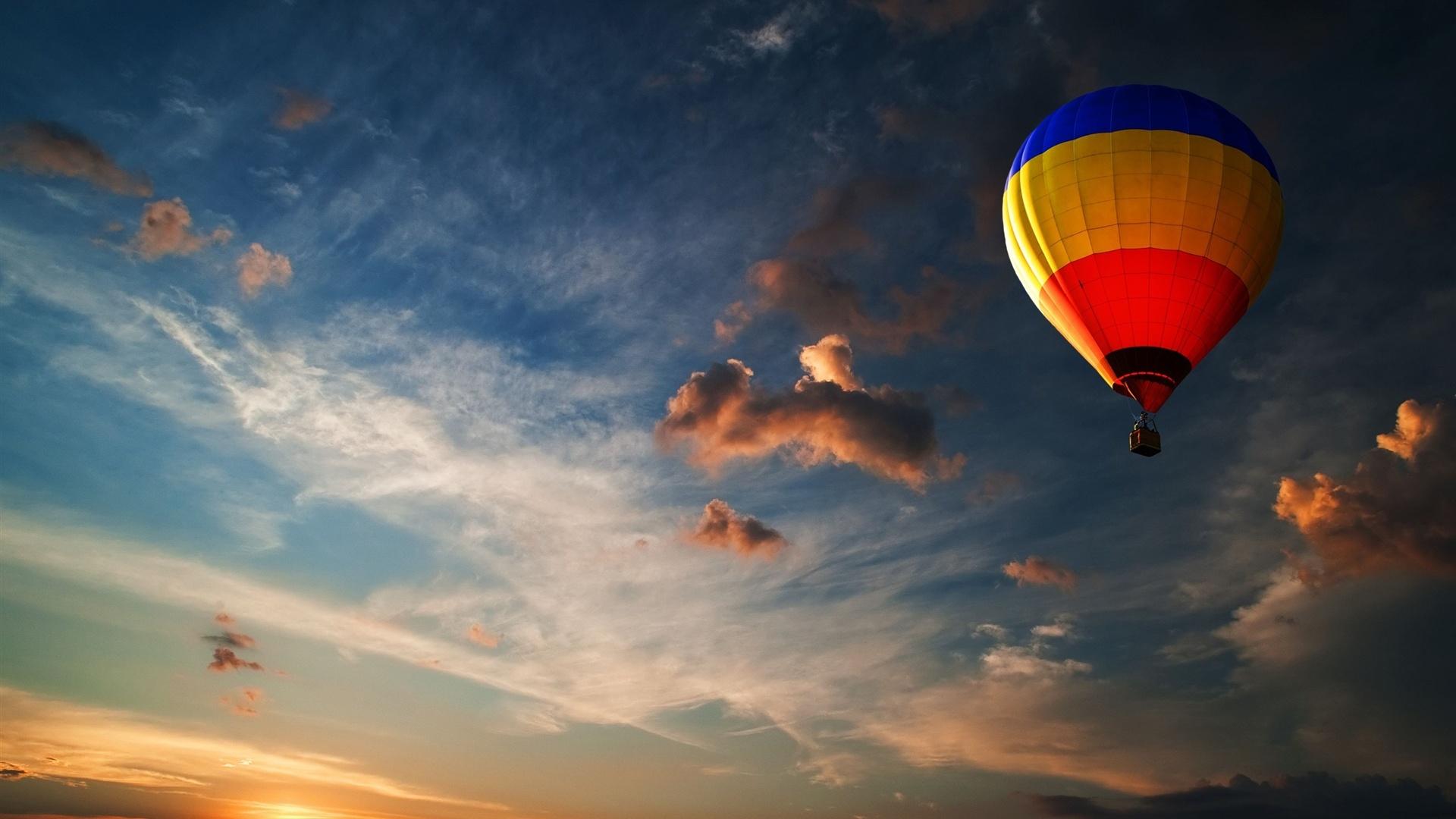 Air Balloon desktop wallpaper hd