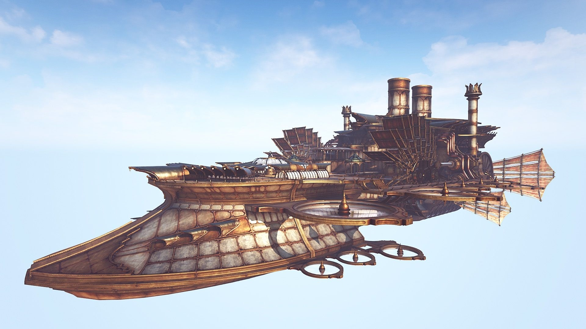 Airship Art Picture