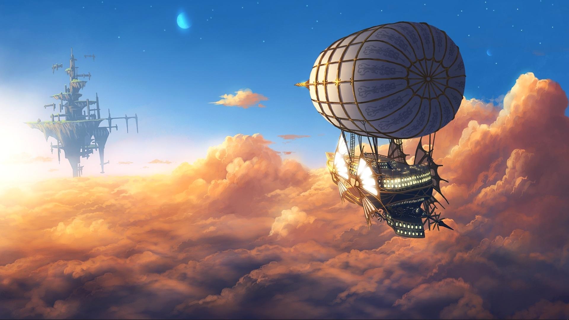 Airship Art Image