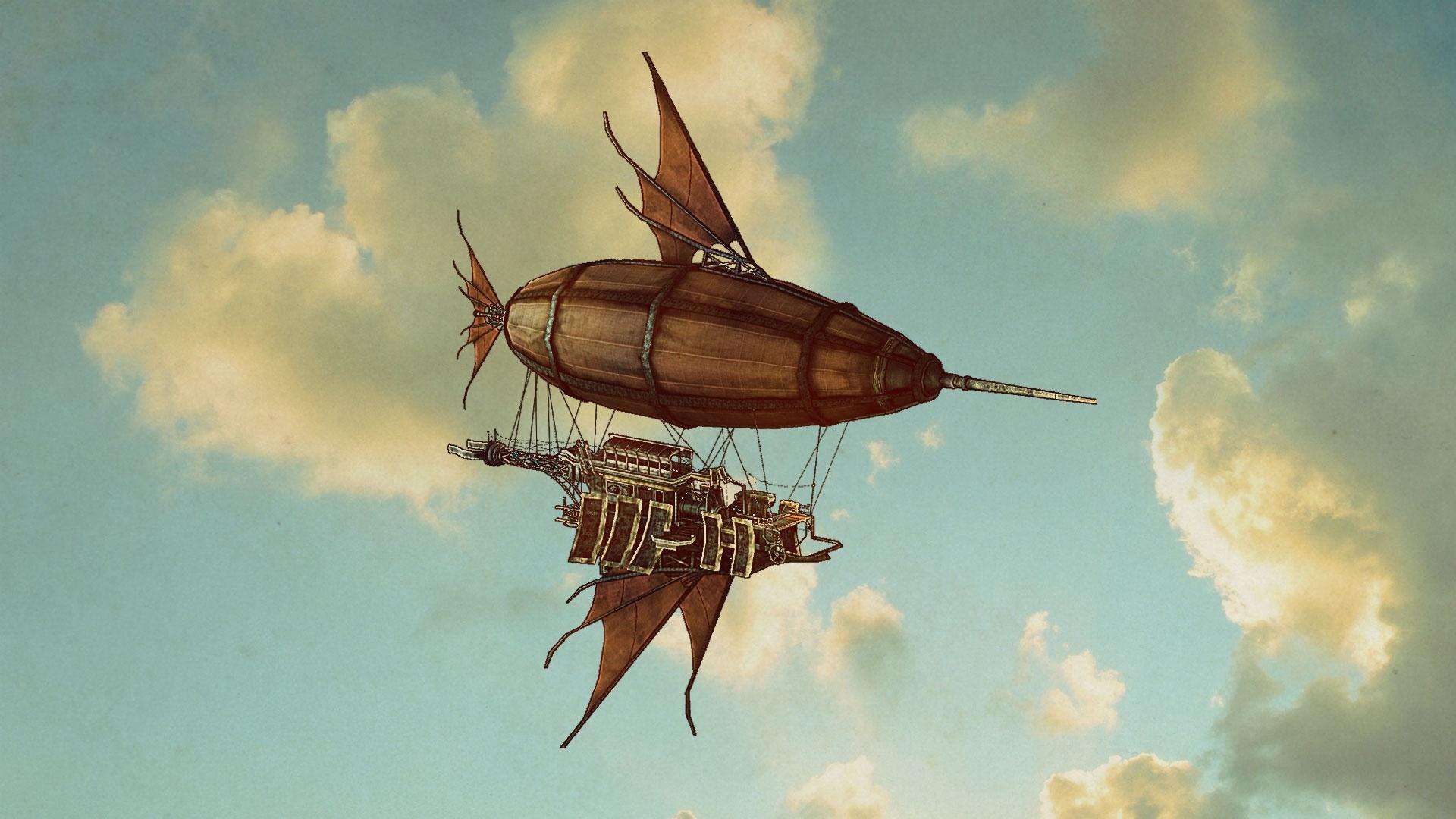 Airship Art wallpaper photo hd