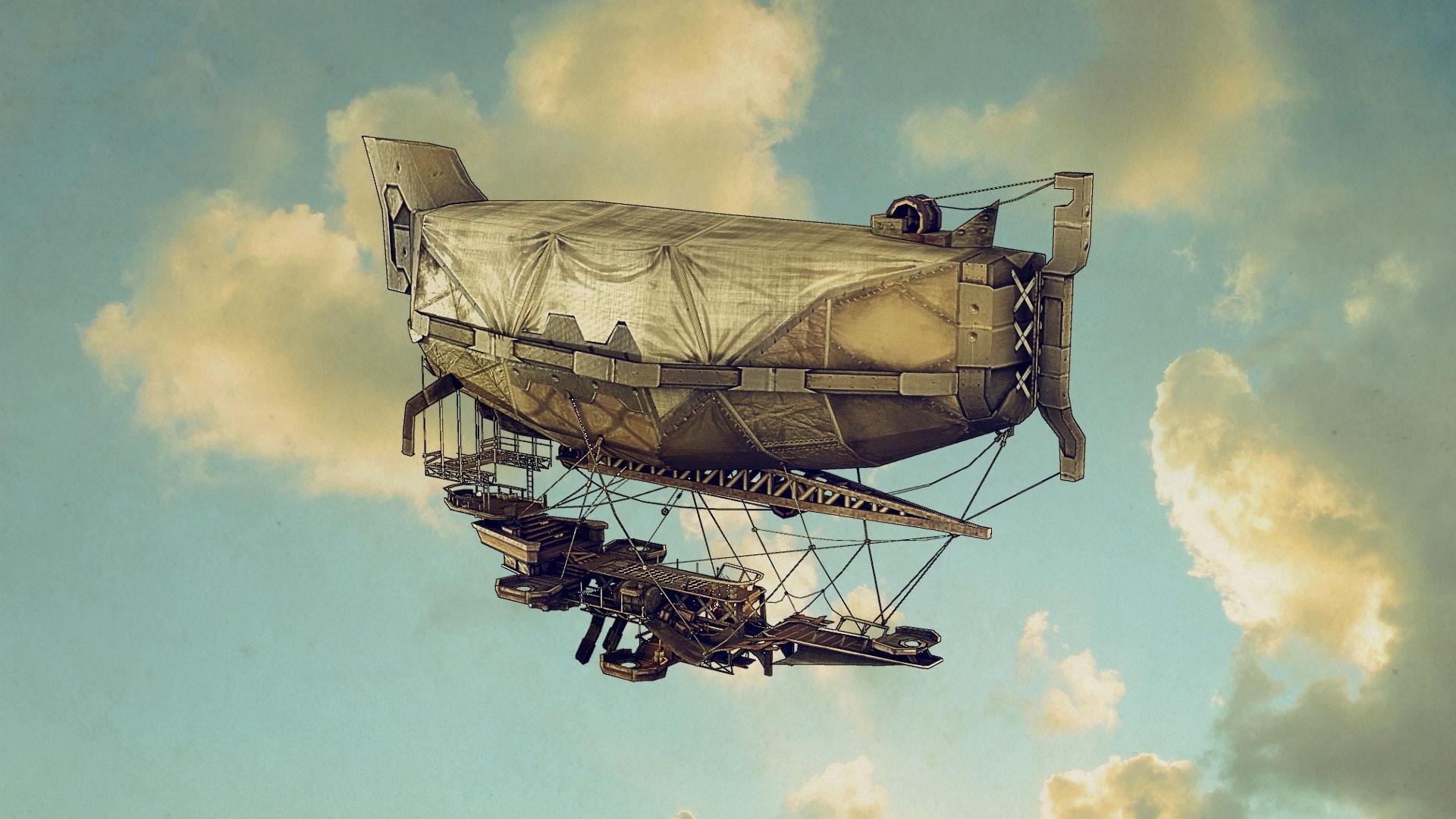 Airship Art wallpaper for pc