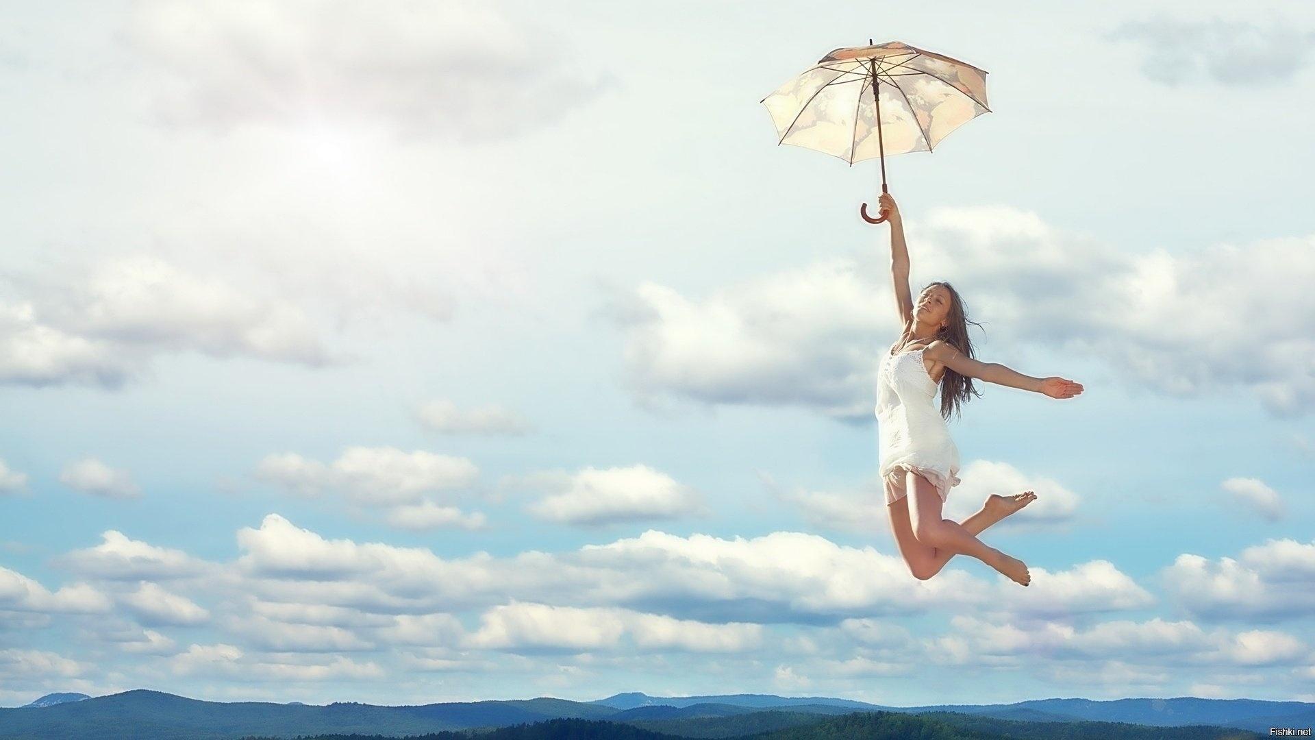 Flying Girl Pic