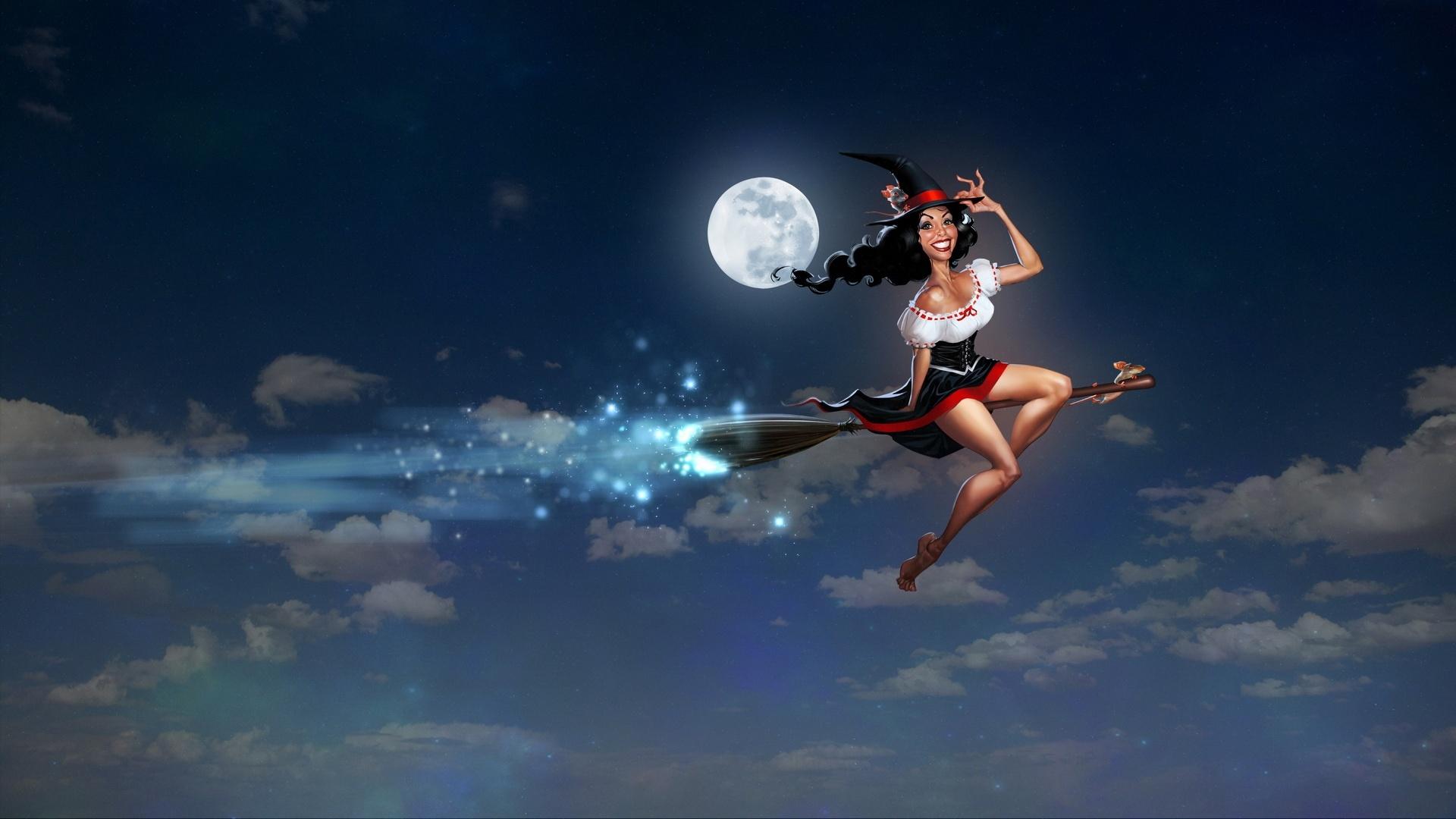 Flying Girl wallpaper for pc