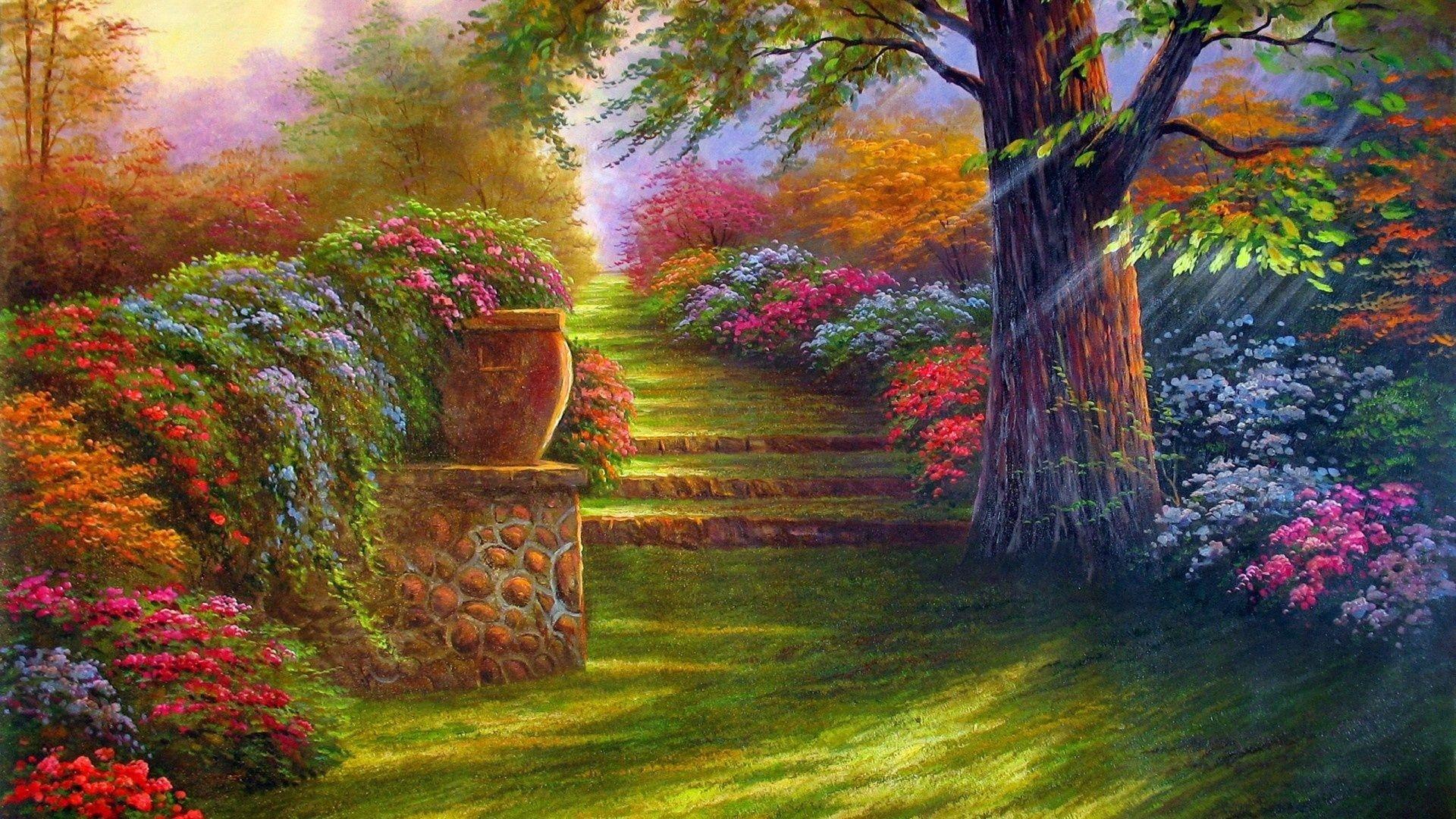 Garden Art wallpaper for pc