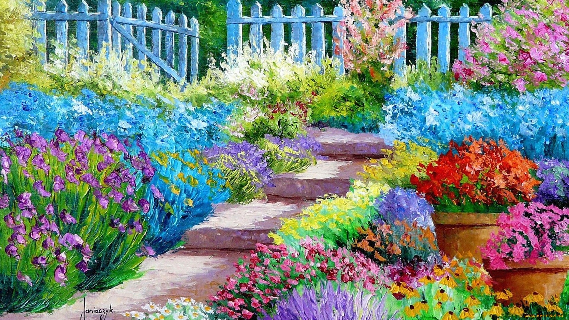 Garden Art Picture