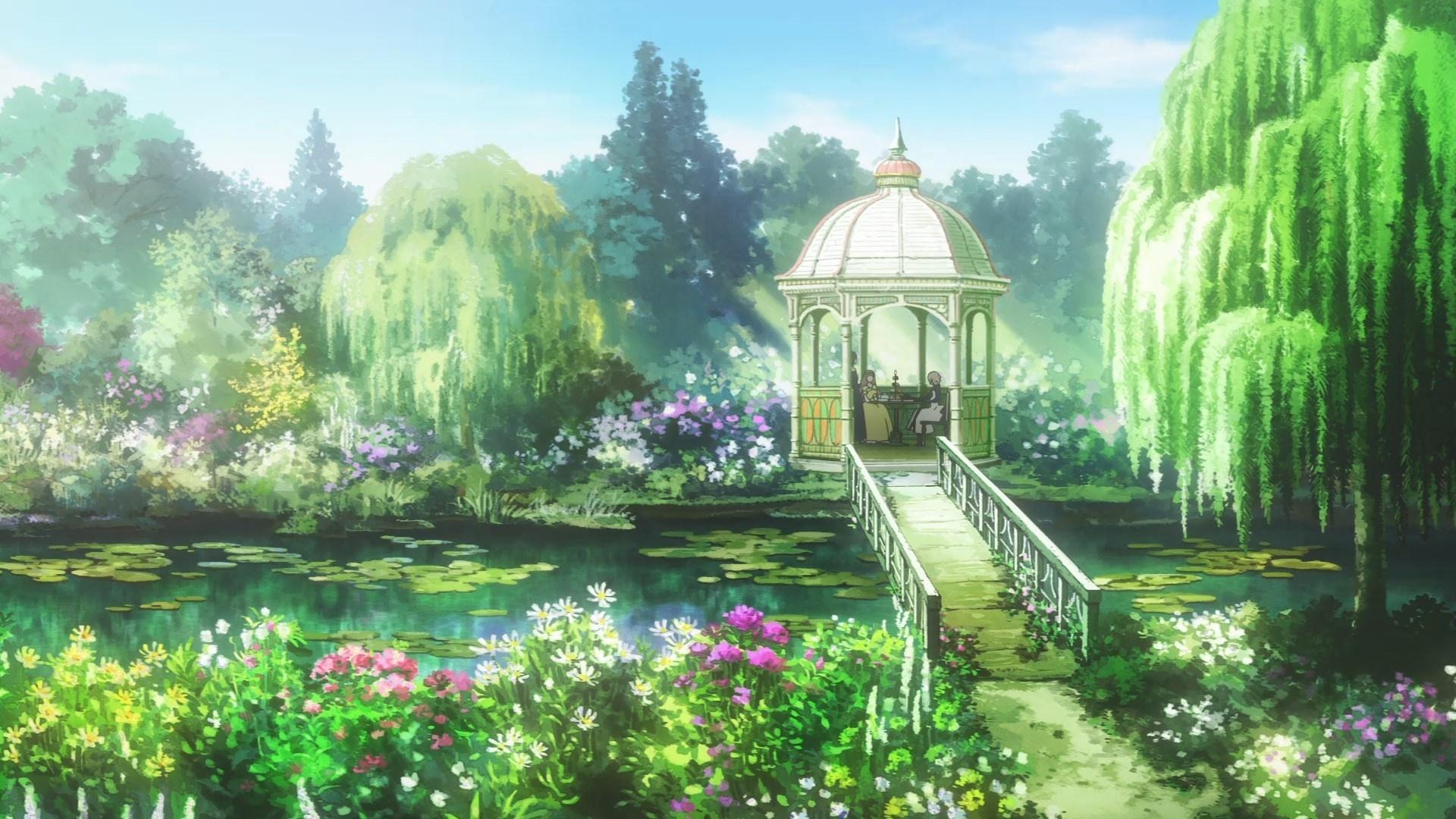 Garden Art HD Wallpaper
