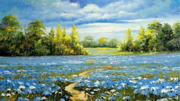 Landscapes Of Nature Oil Picture