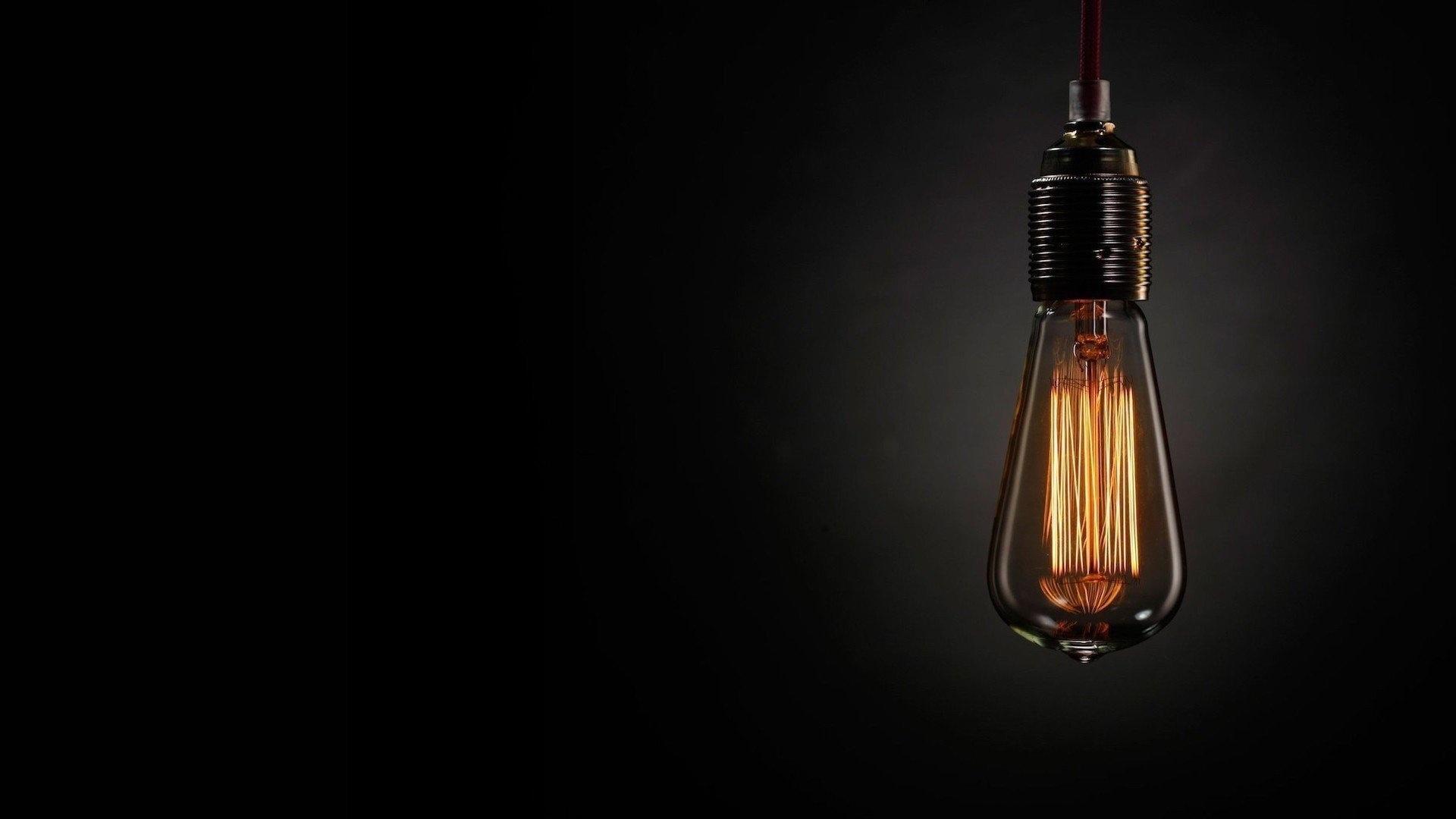 Light Bulb Wallpaper theme