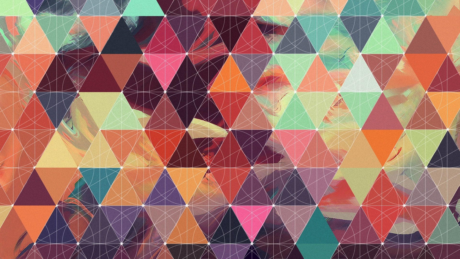 Shapes Triangle Background