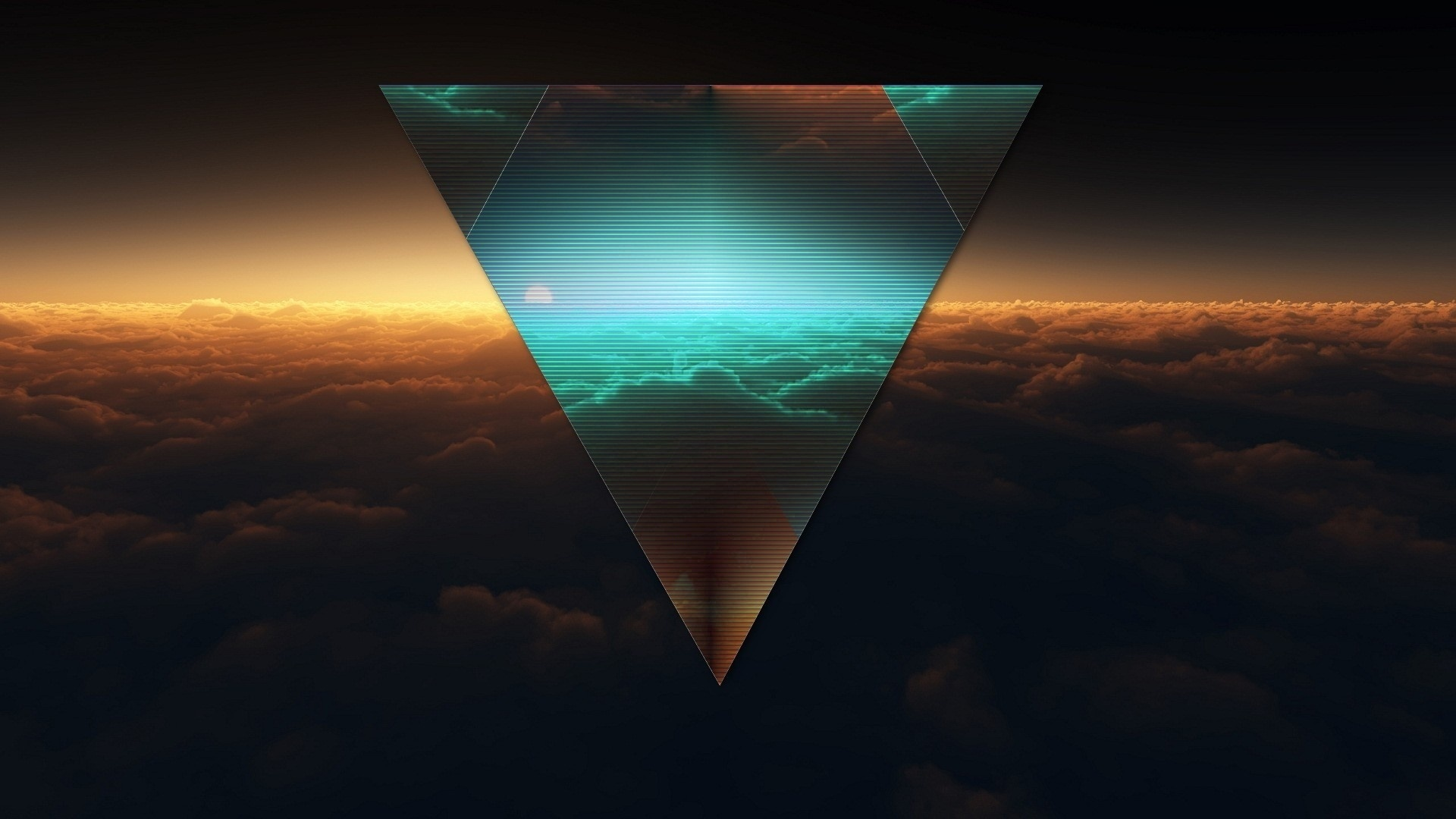 Shapes Triangle computer wallpaper